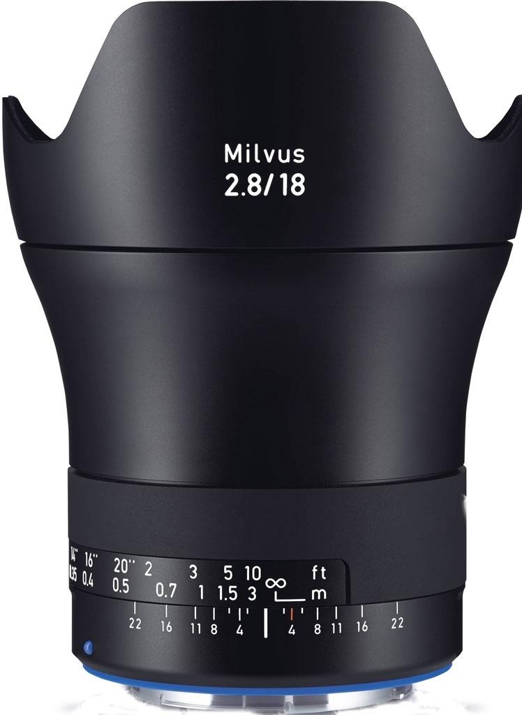 ZEISS Milvus 18mm 1:2,8 ZF.2 f. Nikon