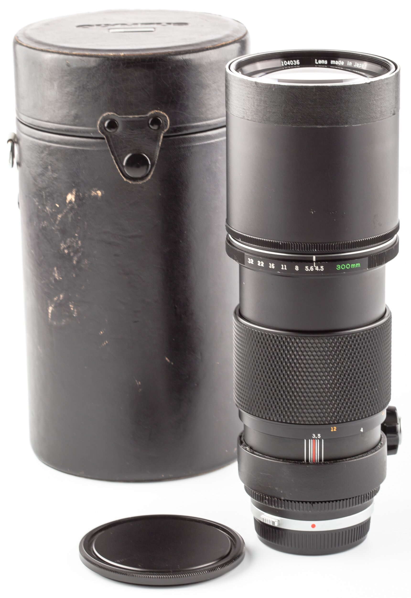 Olympus OM 300mm 4,5 Auto-T F.Zuiko