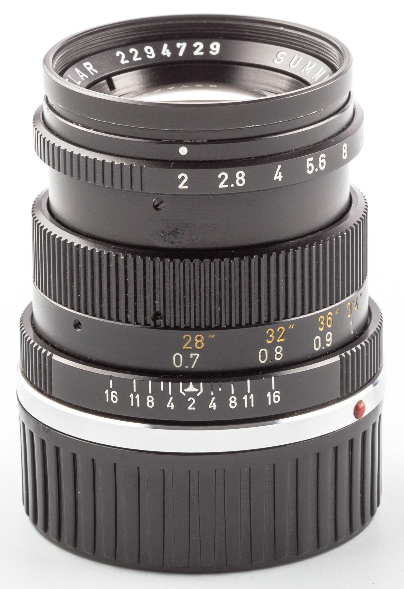 Leica M Objektiv Summicron  2/50 mm 11817