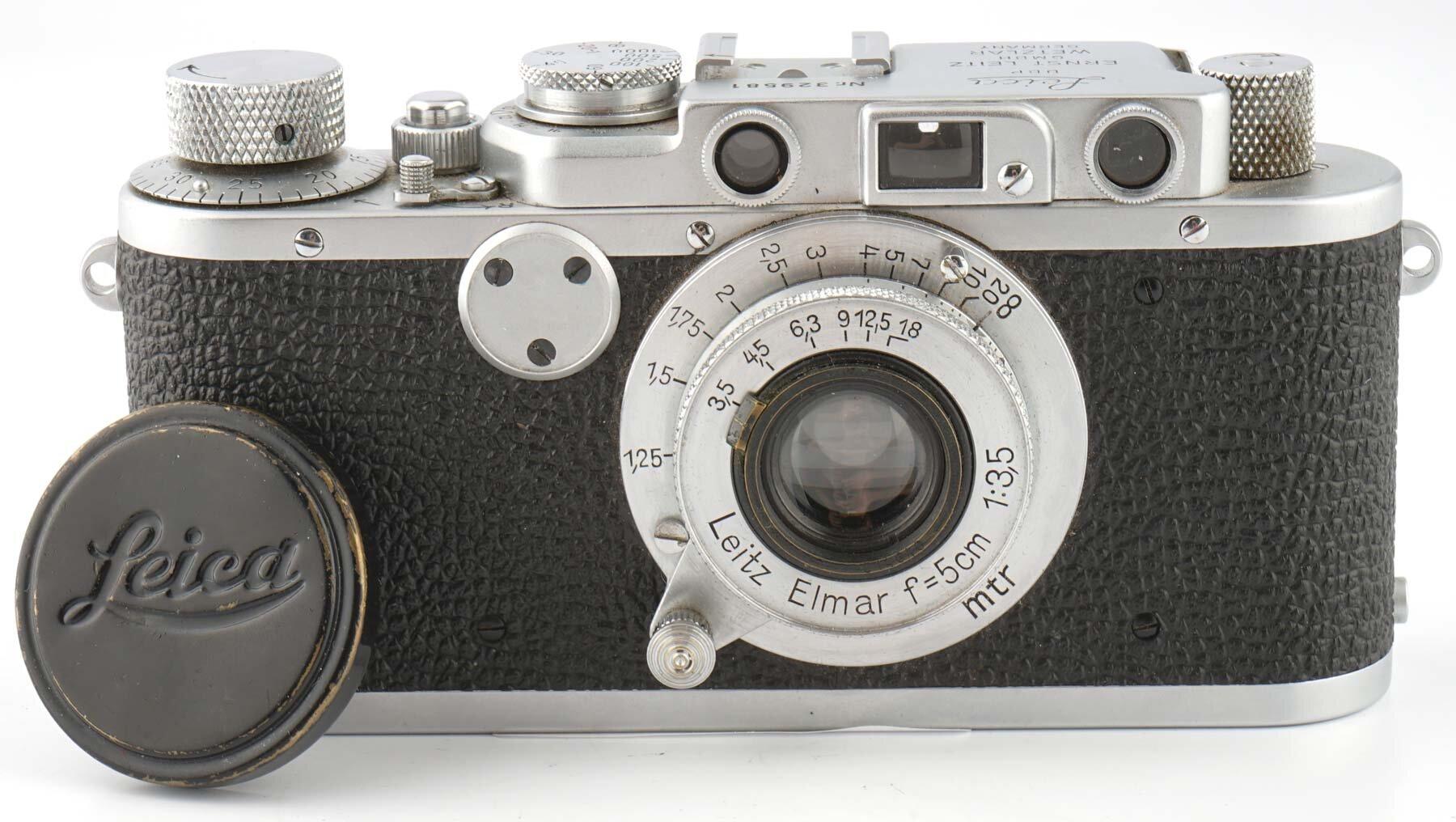 Leica II mit Elmar 3.5/5cm 1939