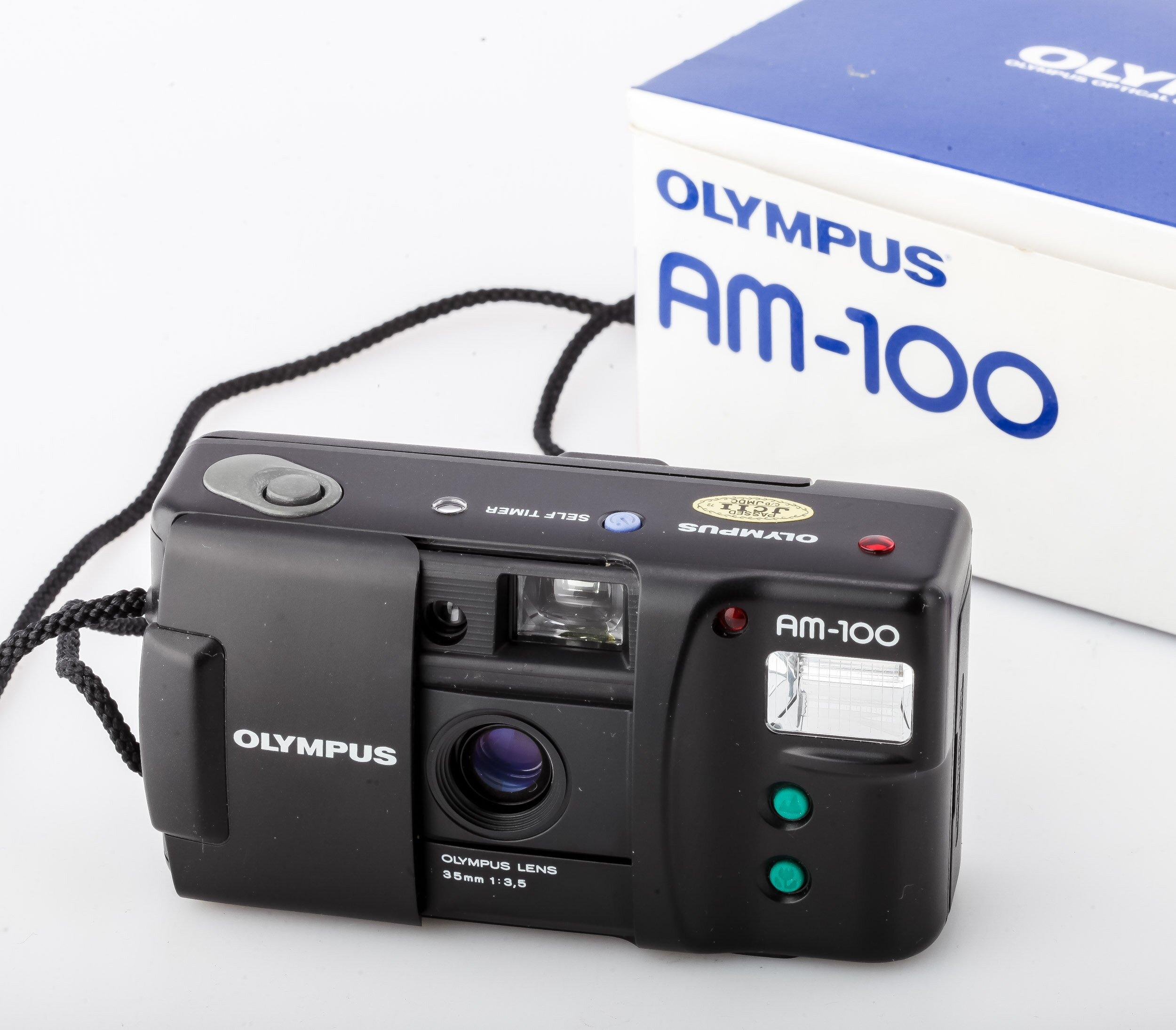 Olympus AM-100 35mm/3,5 Analoge Kompaktkamera