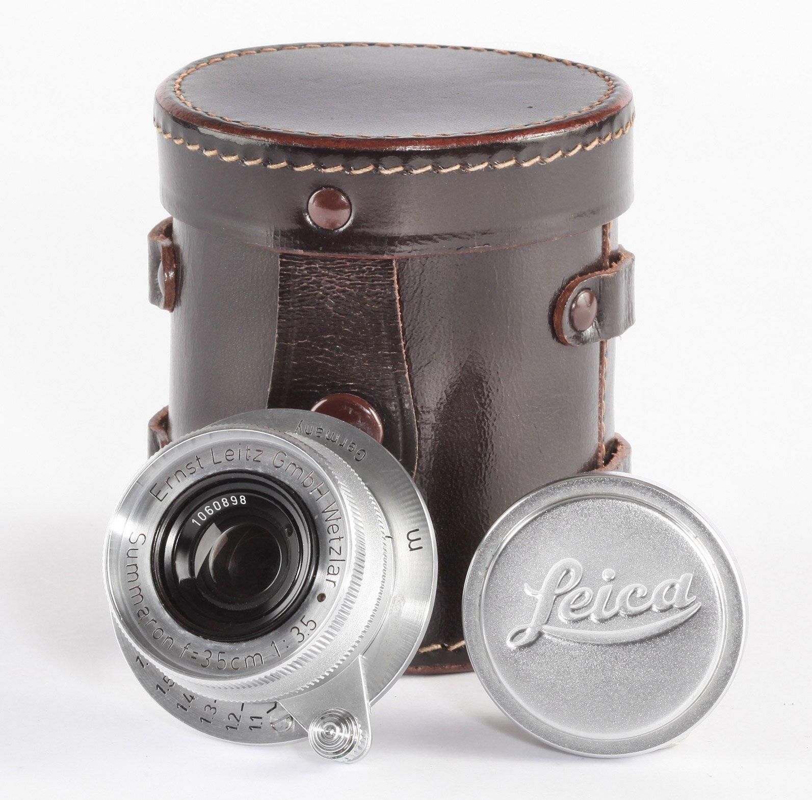 Leitz Leica M39 Summaron 3,5/3,5cm chrom