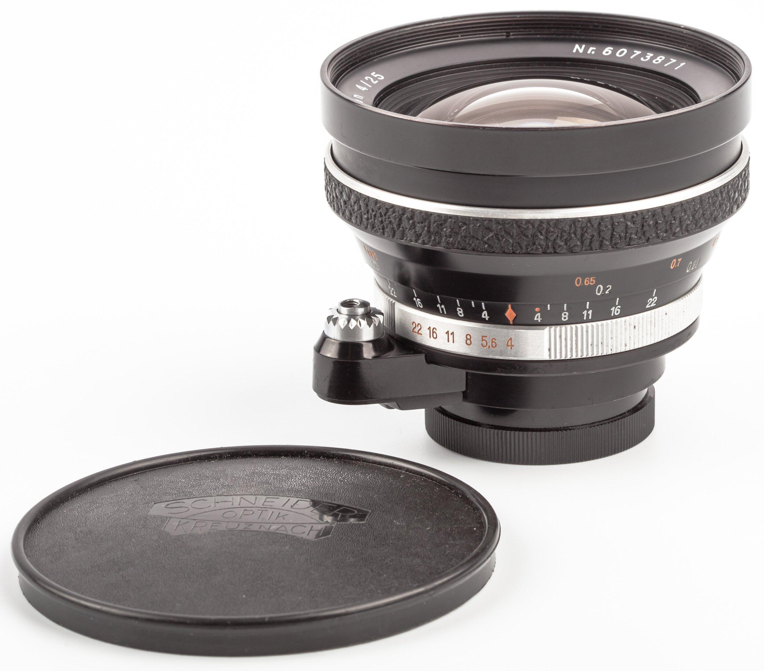 Jena 25mm F4.0 Flektogon Exakta
