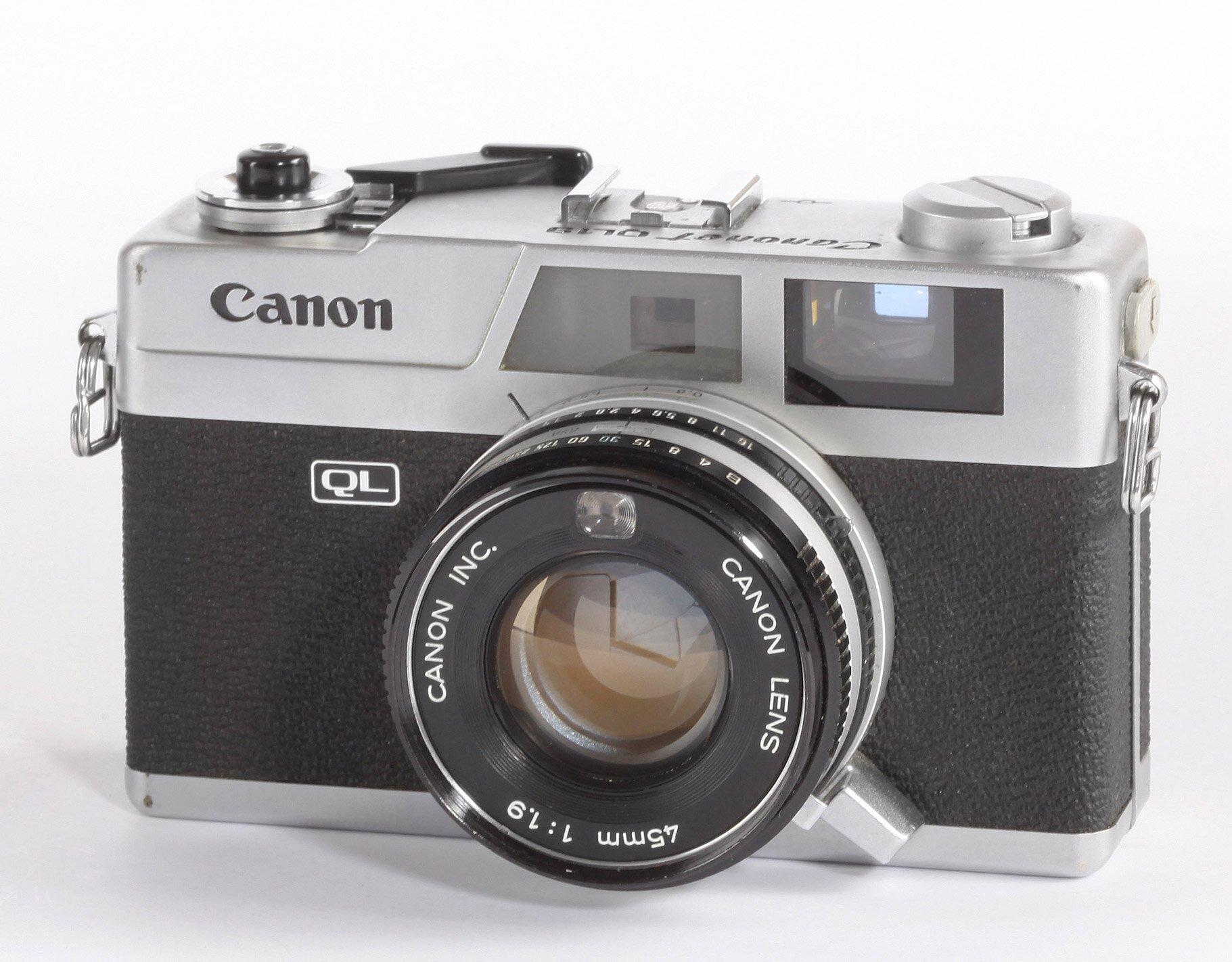 Canon Canonet QL 45mm/1,9