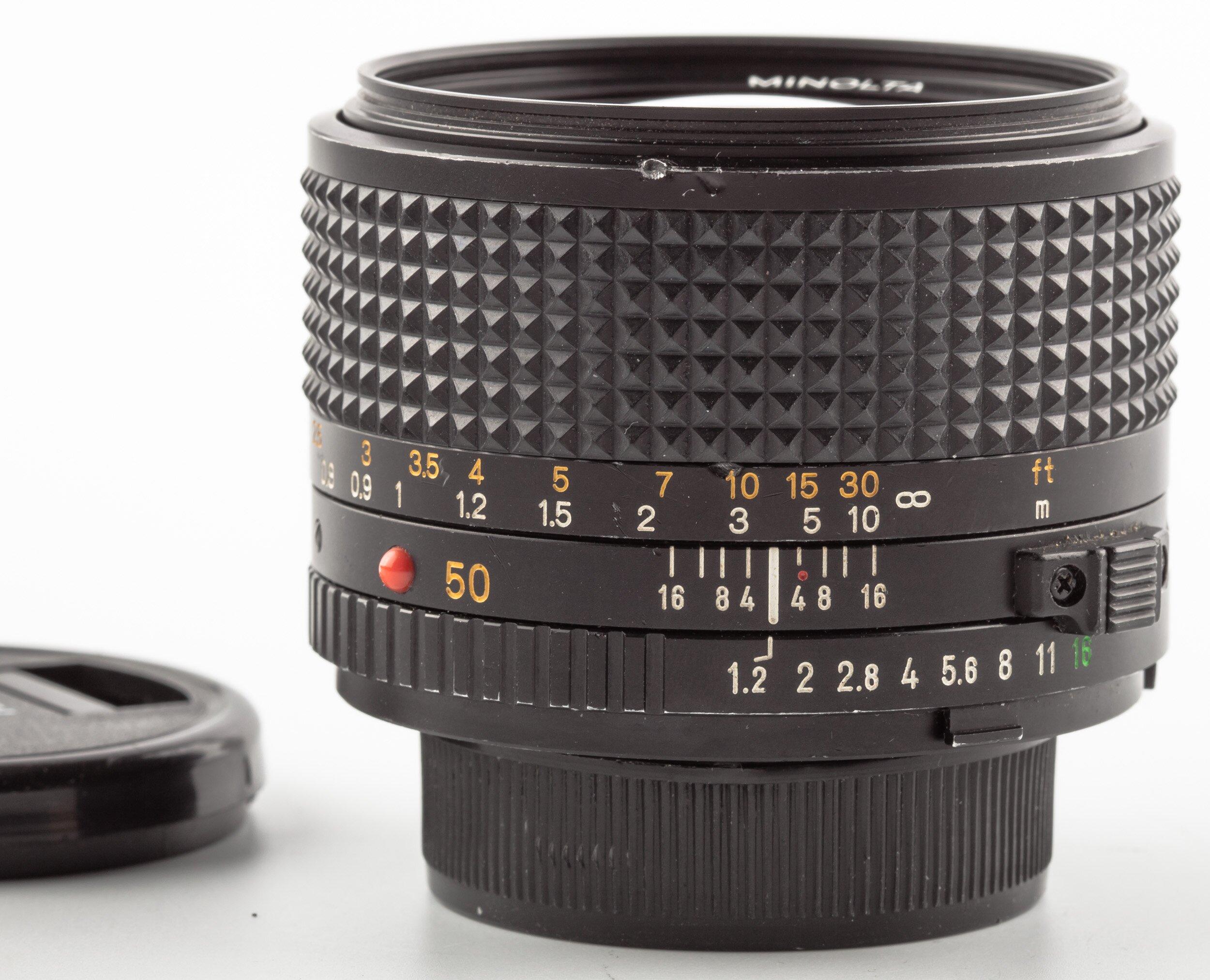 Minolta MC 50mm F1.2