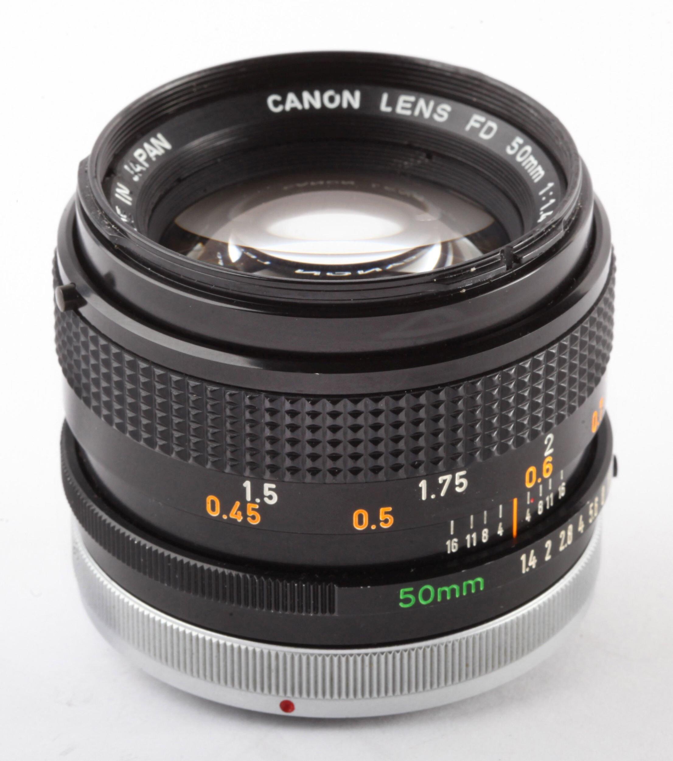 Canon FD 50mm/1,4 S.S.C