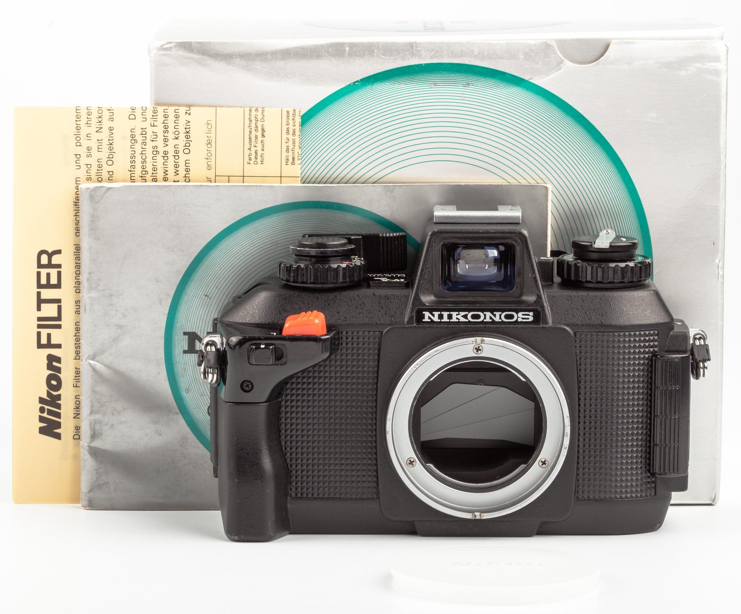 Nikon Nikonos IV-A Body Black