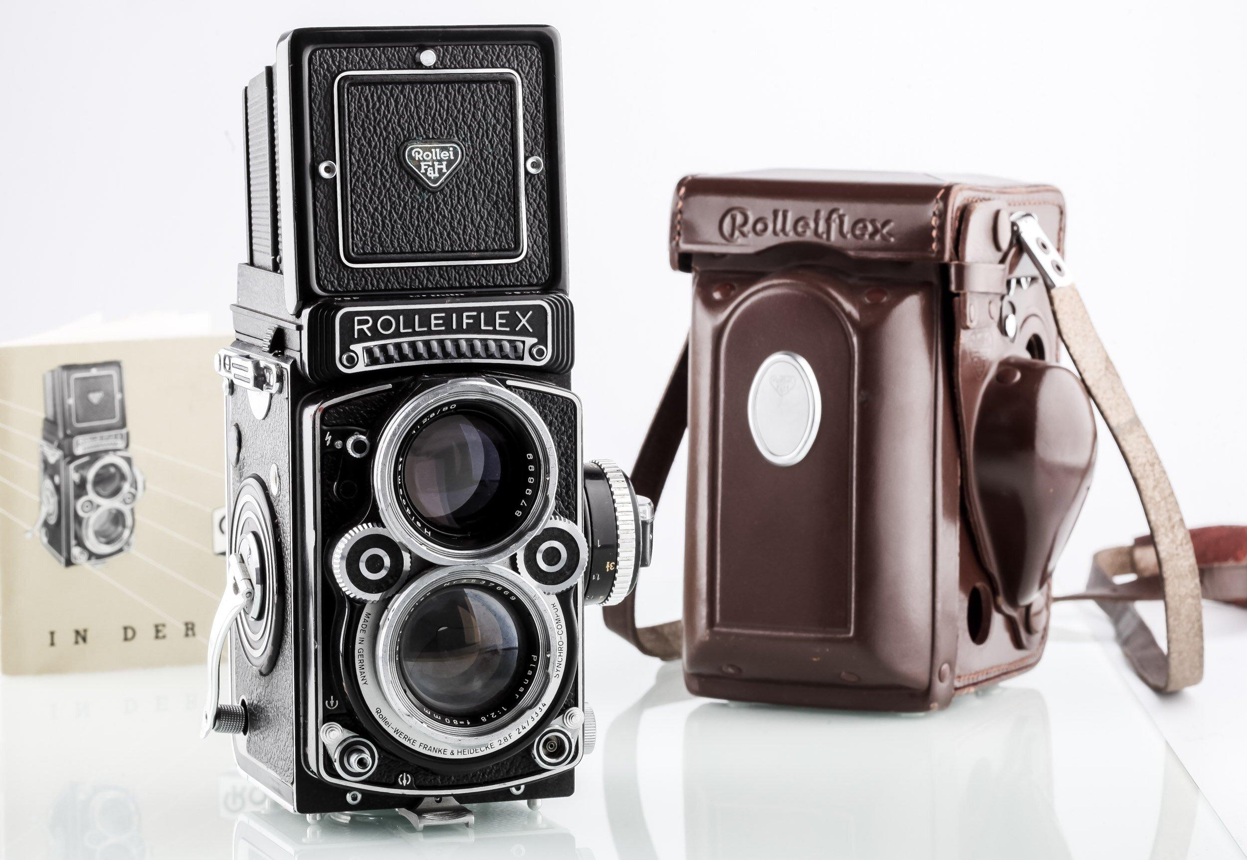 Rolleiflex 2,8 F White Face