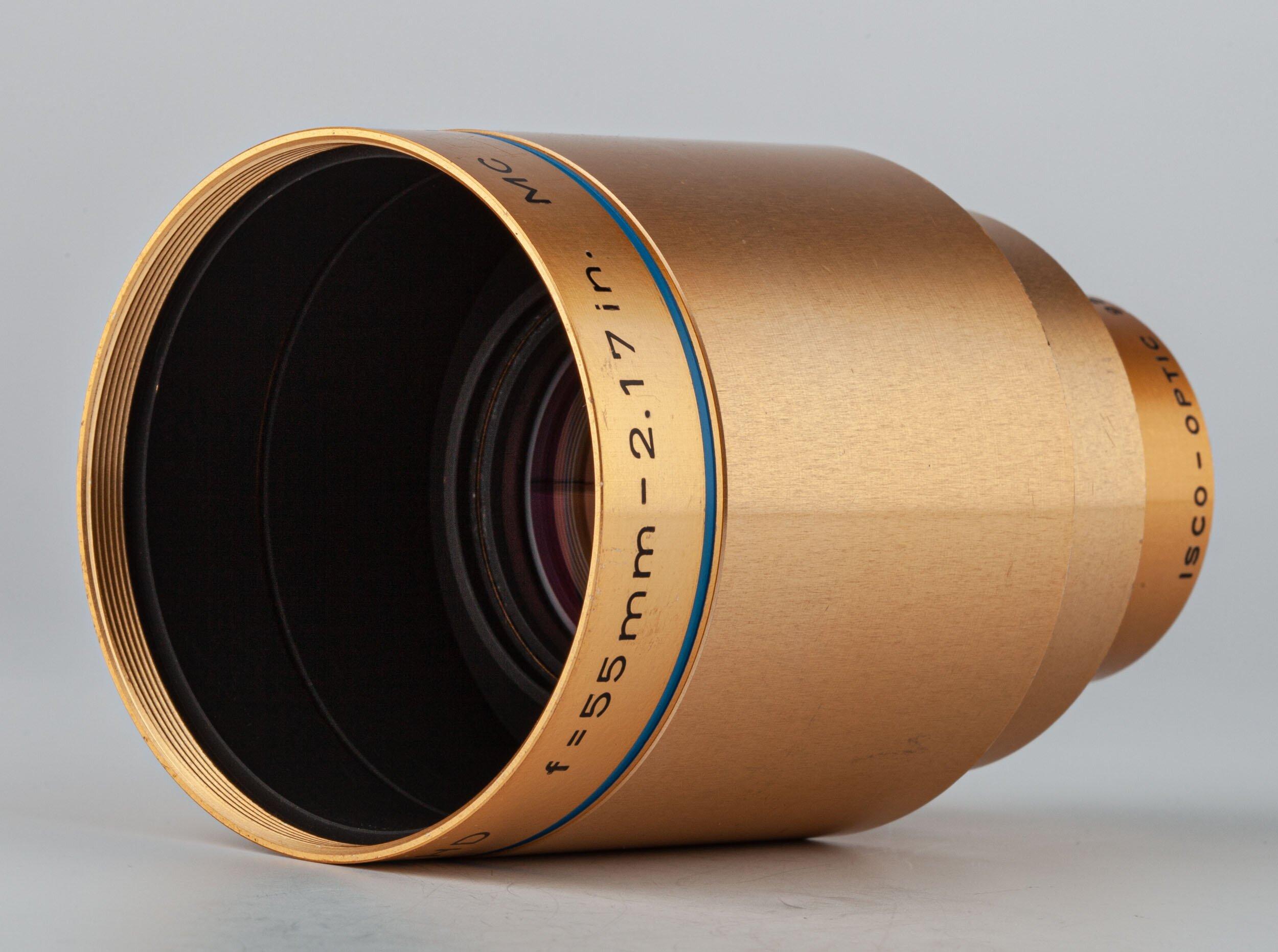 Isco-Optic Ultra-Star HD f=55mm-2.17 in. MC Projektion