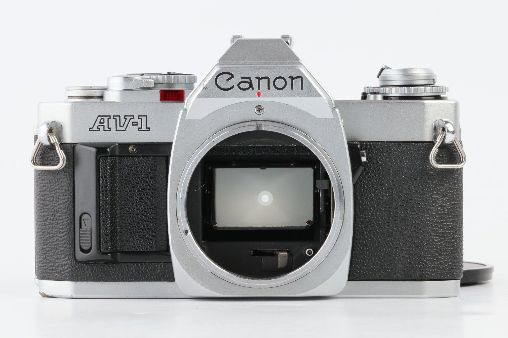 Canon AV-1 chrom Gehäuse