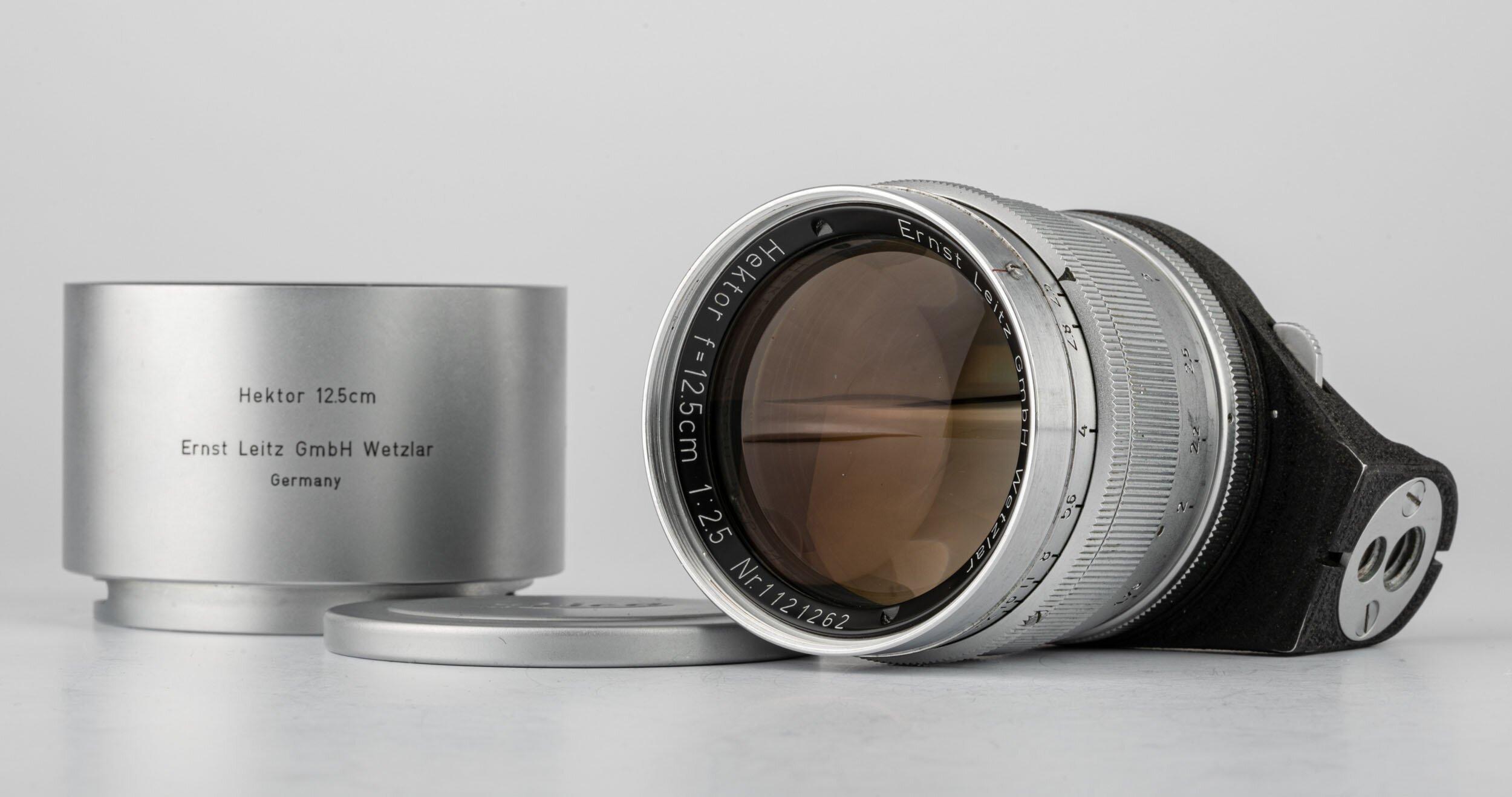 Leica Hektor 12,5cm F2,5 Visoflex 16466 M39