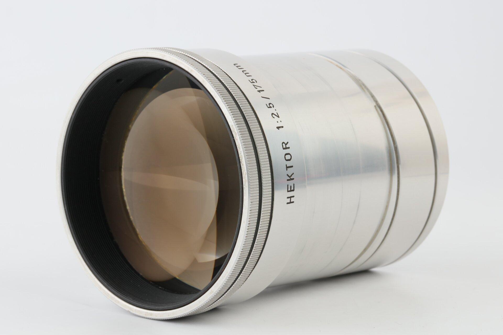 Leitz Leica Hektor 2,5/175mm selten!