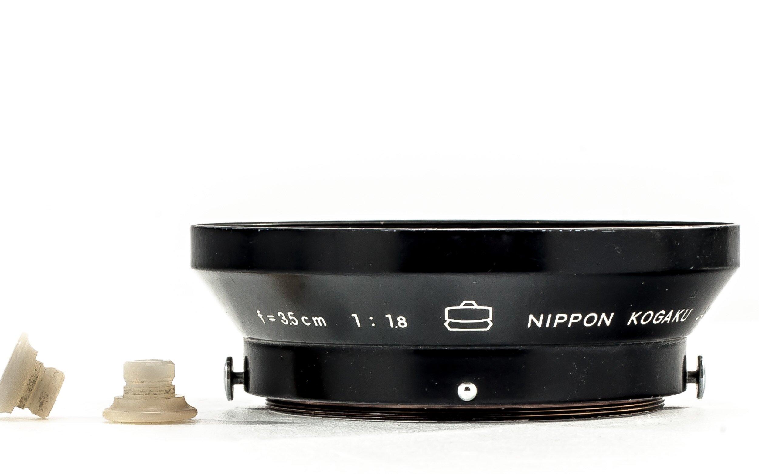 Nippon Kogaku Nikon Gegenlichtblende f. 1,8/3,5cm RF