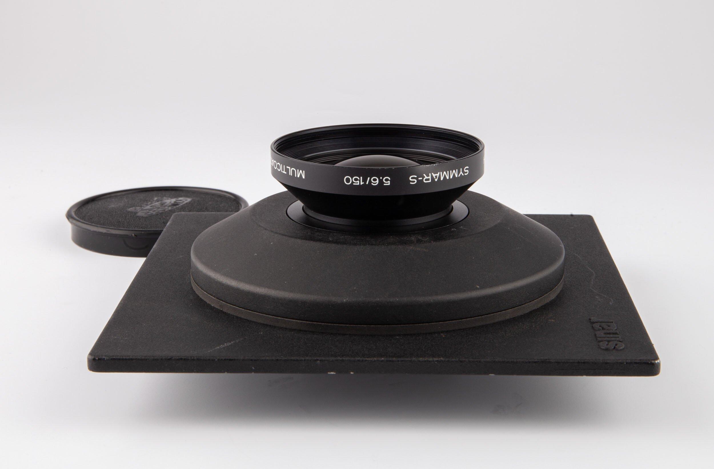 Schneider-Kreuznach Symmar-S 5,6/150mm auf Sinar DB