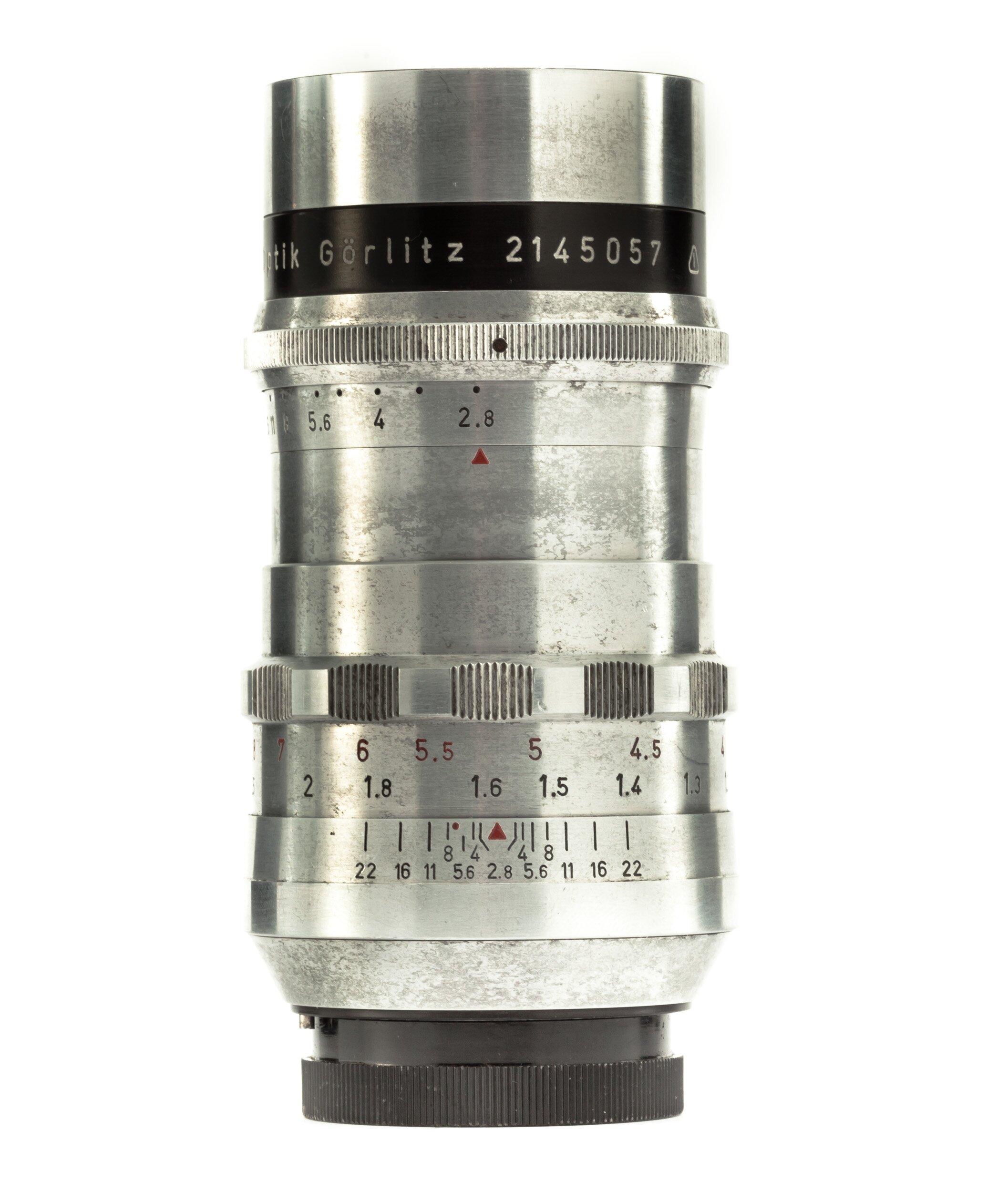Meyer-Optik Görlitz f. Exakta 2,8/100mm Trioplan
