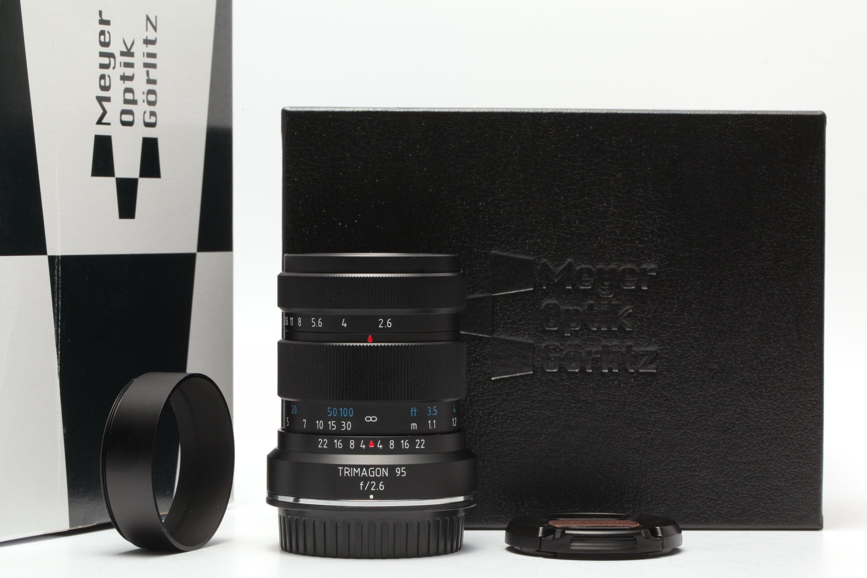 Meyer Optik Görlitz Trimagon 95mm 1:2,6 für Canon EF