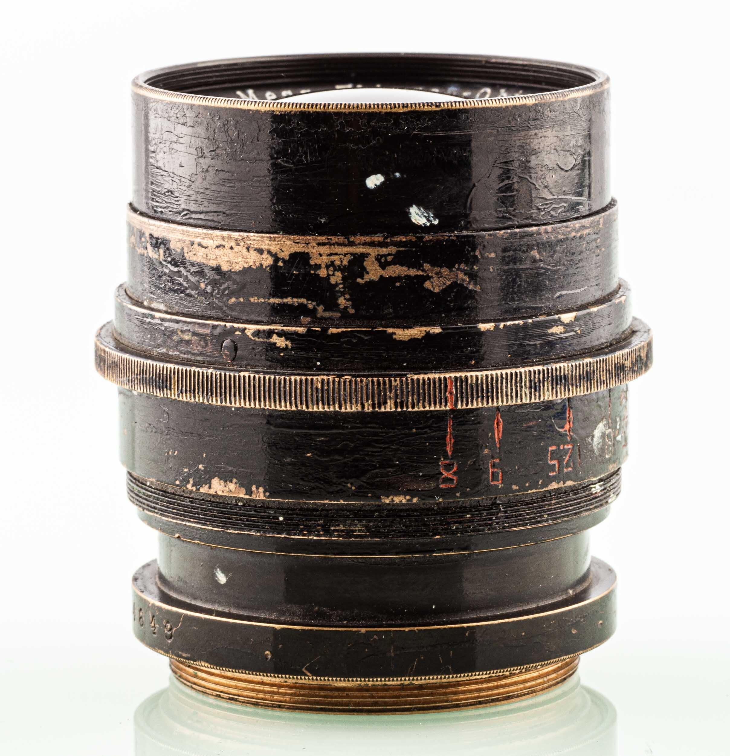 Carl Zeiss Jena Mess-Flieger-Objektiv 4,5/21cm