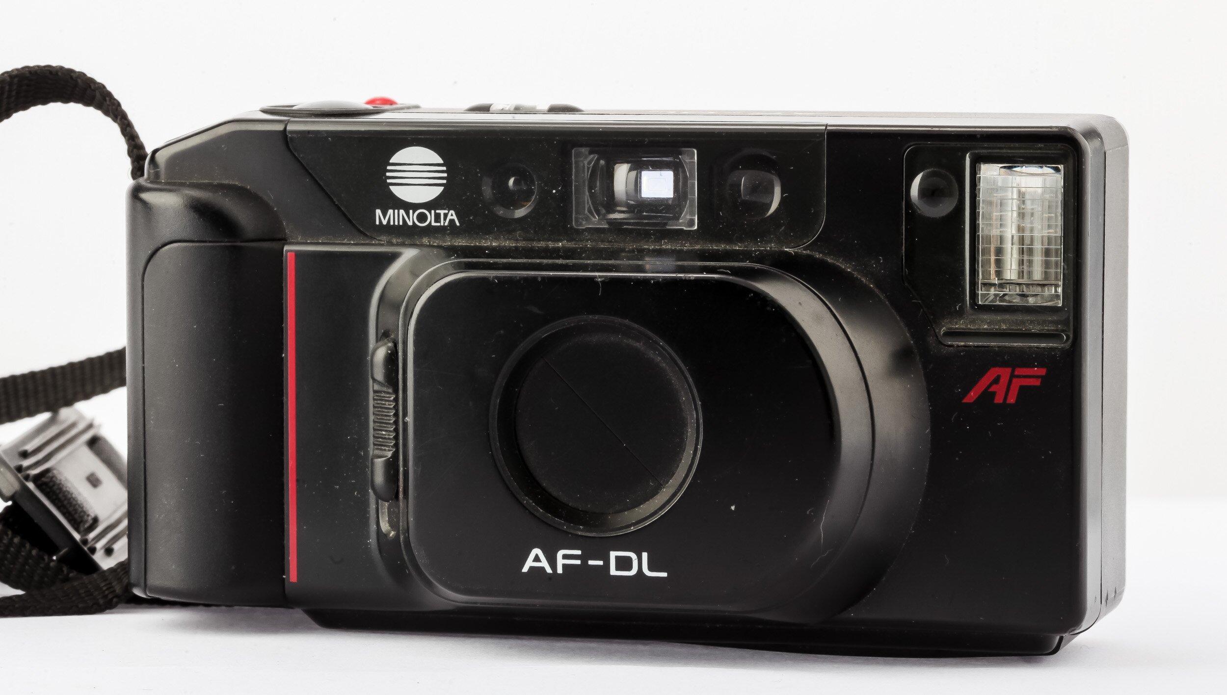 Minolta AF-DL Analoge Kompaktkamera