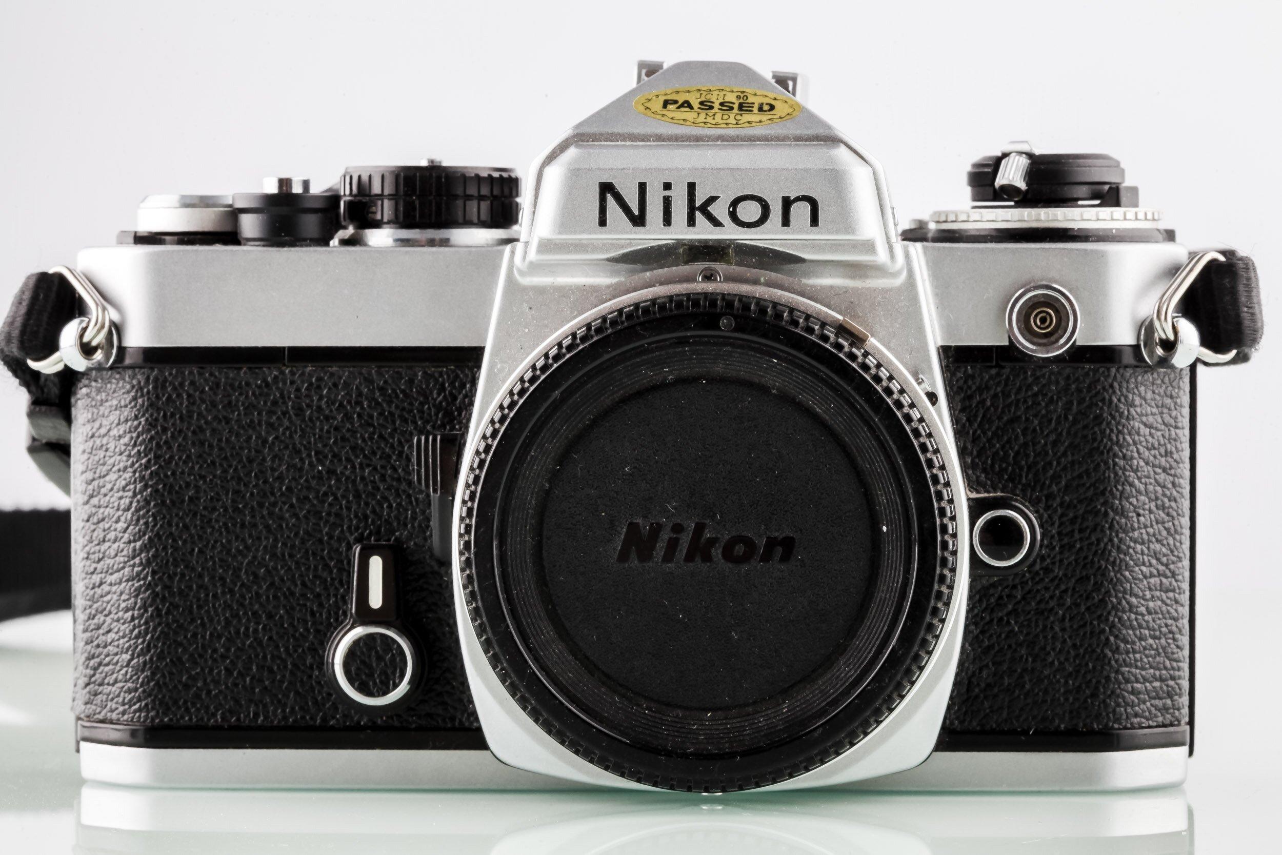 Nikon FE Gehäuse chrom