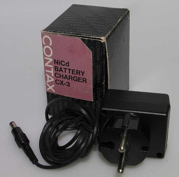 Contax f. RTS NiCd Battery Charger CX- 3