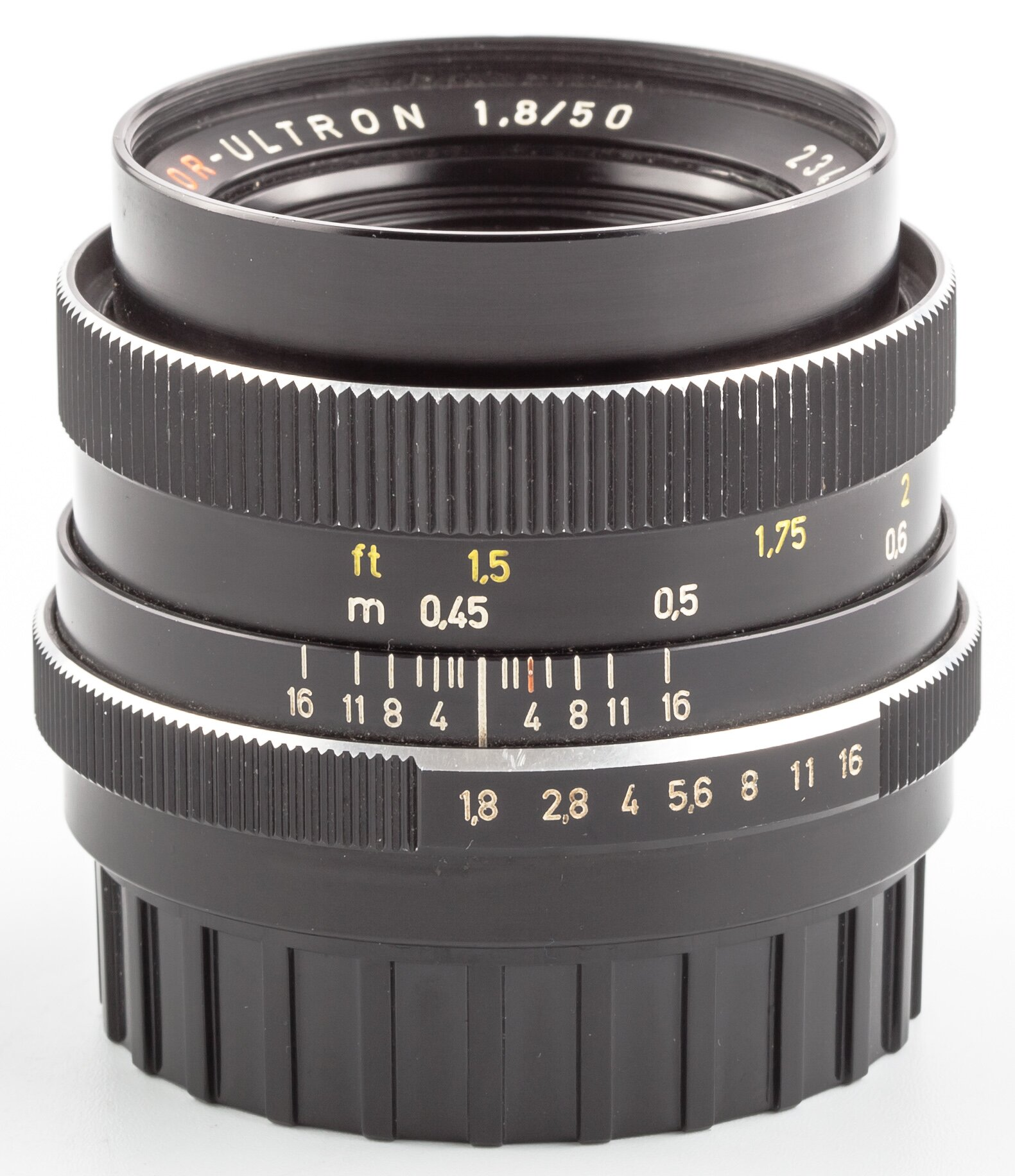 Color Ultron 50mm 1.8 Voigtländer Germany