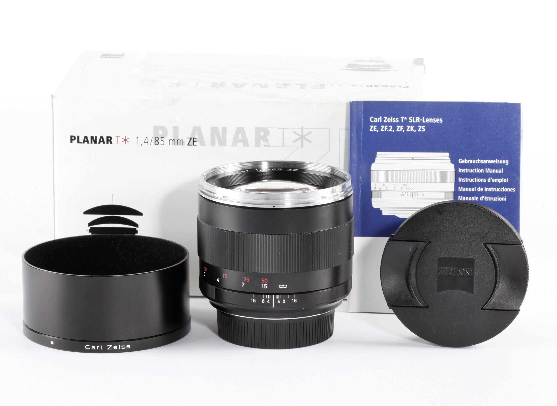 Zeiss Planar 85mm 1,4 ZE f.Canon