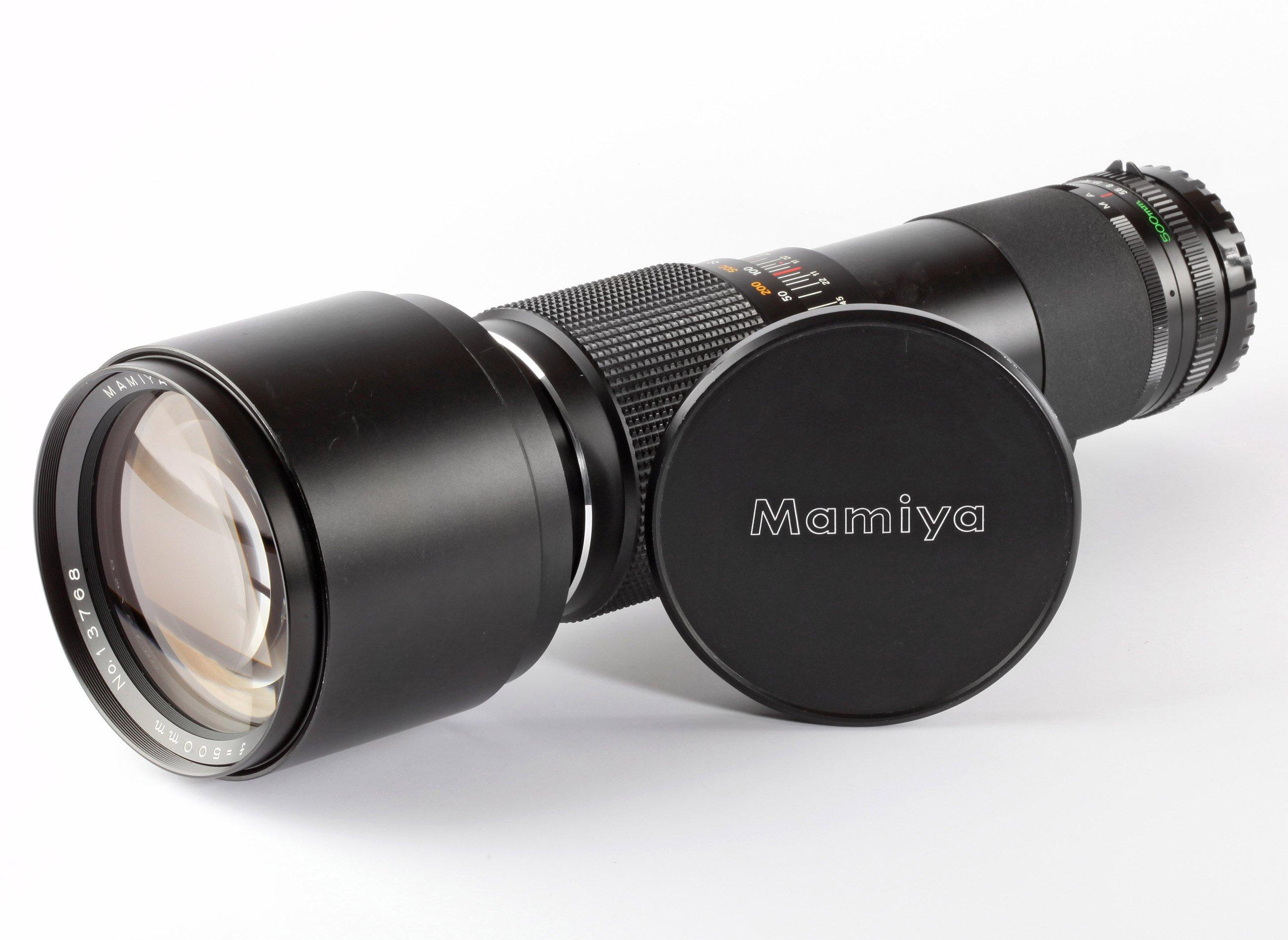 Mamiya-Sekor C 5,6/500mm f.645