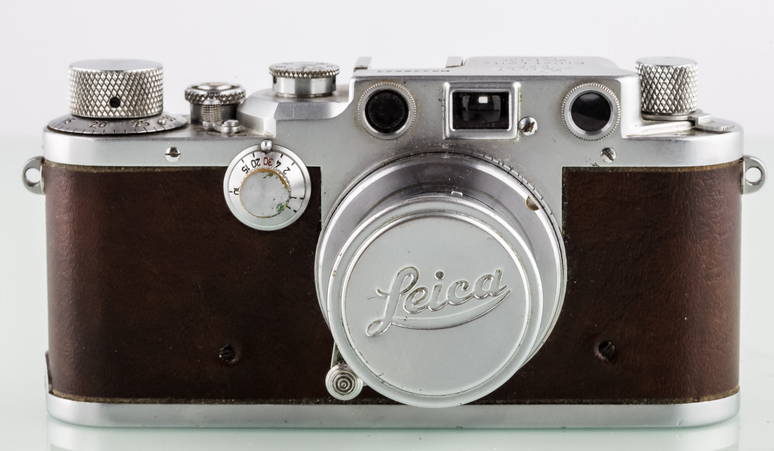 Leica IIIc mit Summar 2/5cm versenkbar