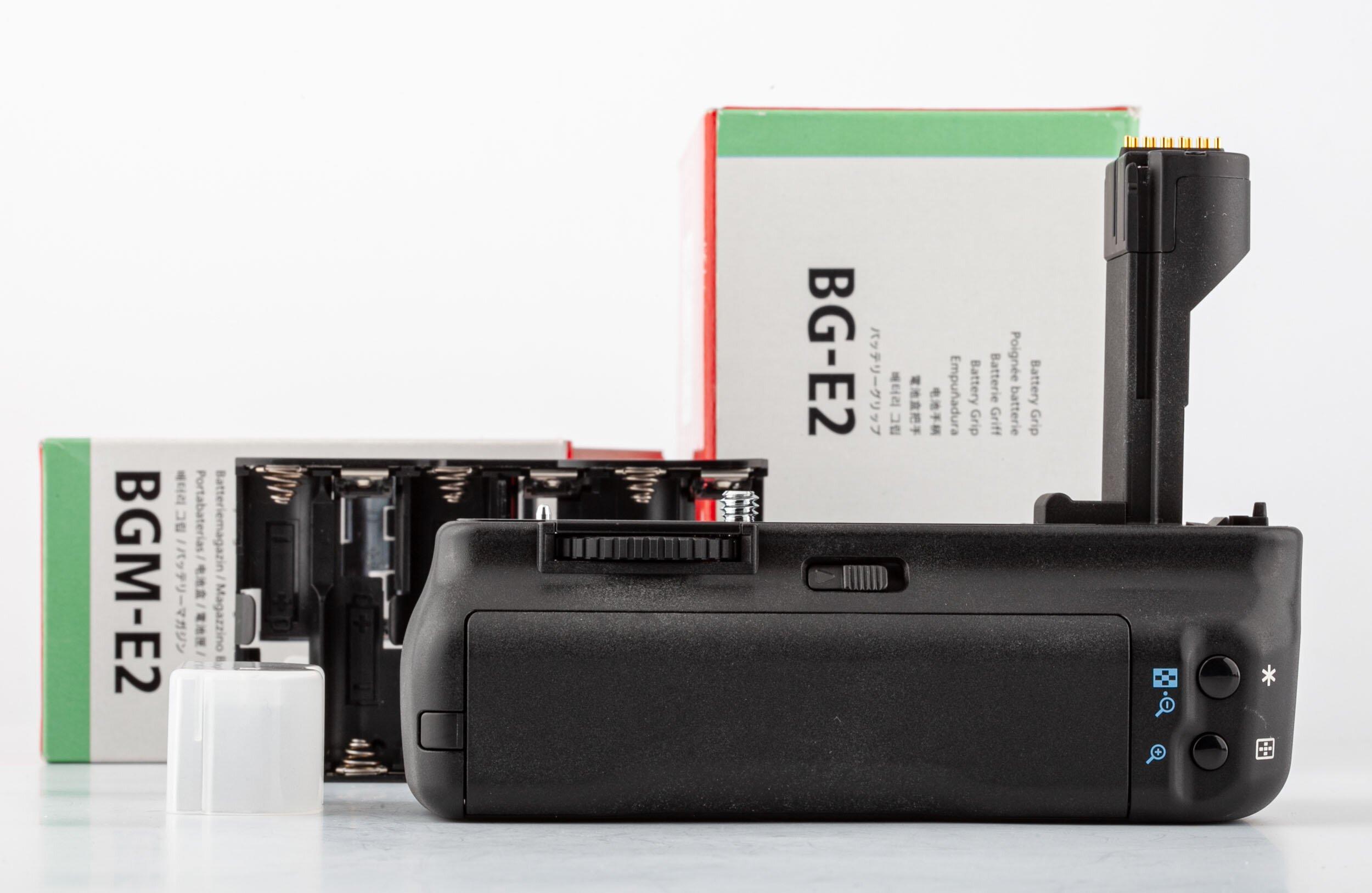 Canon EOS 20D Gehäuse ca. 15.000 Auslösungen + BG-E2 Batteriehandgriff