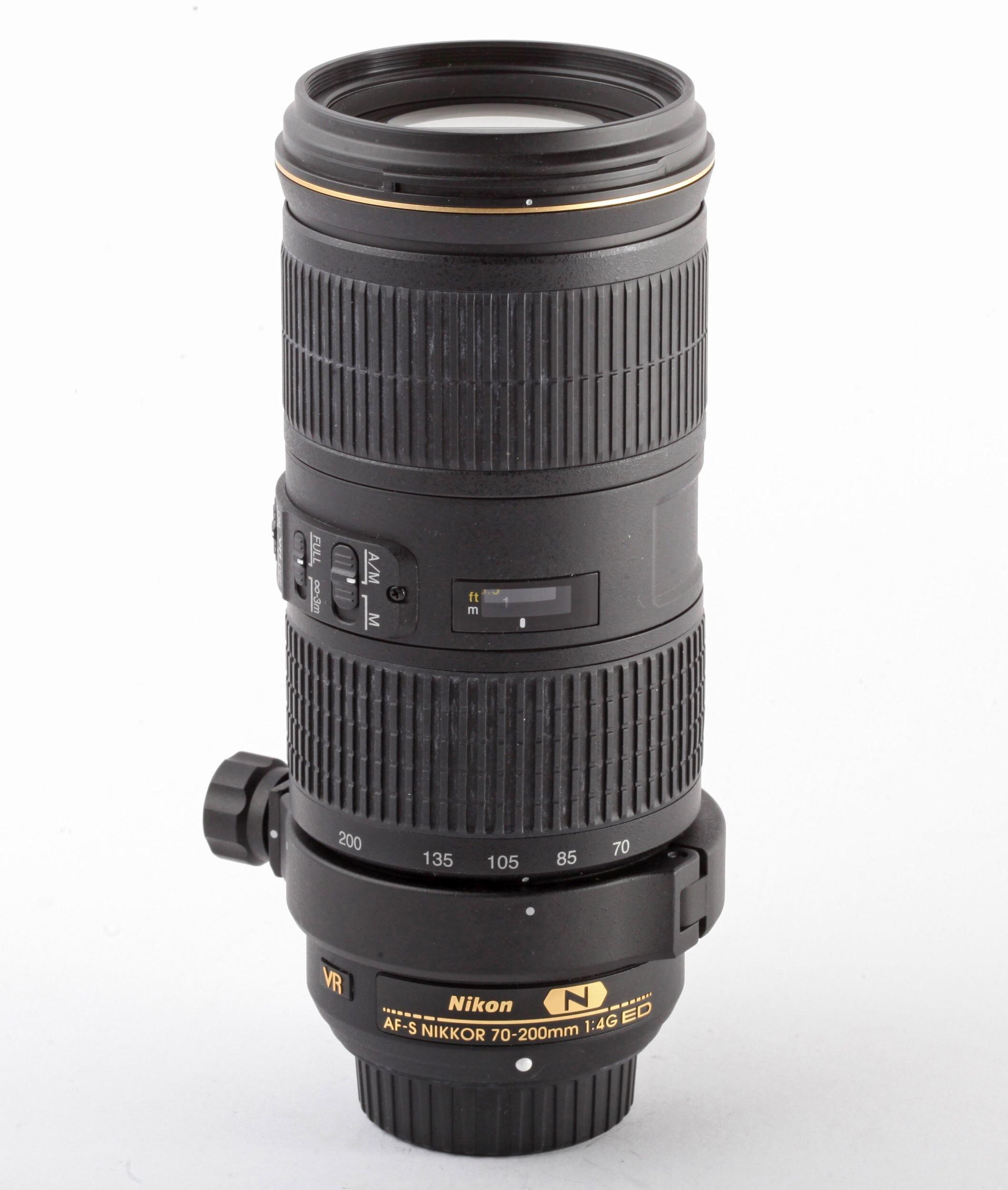 Nikon AF-S Nikkor 70-200 mm / 4,0 G ED VR