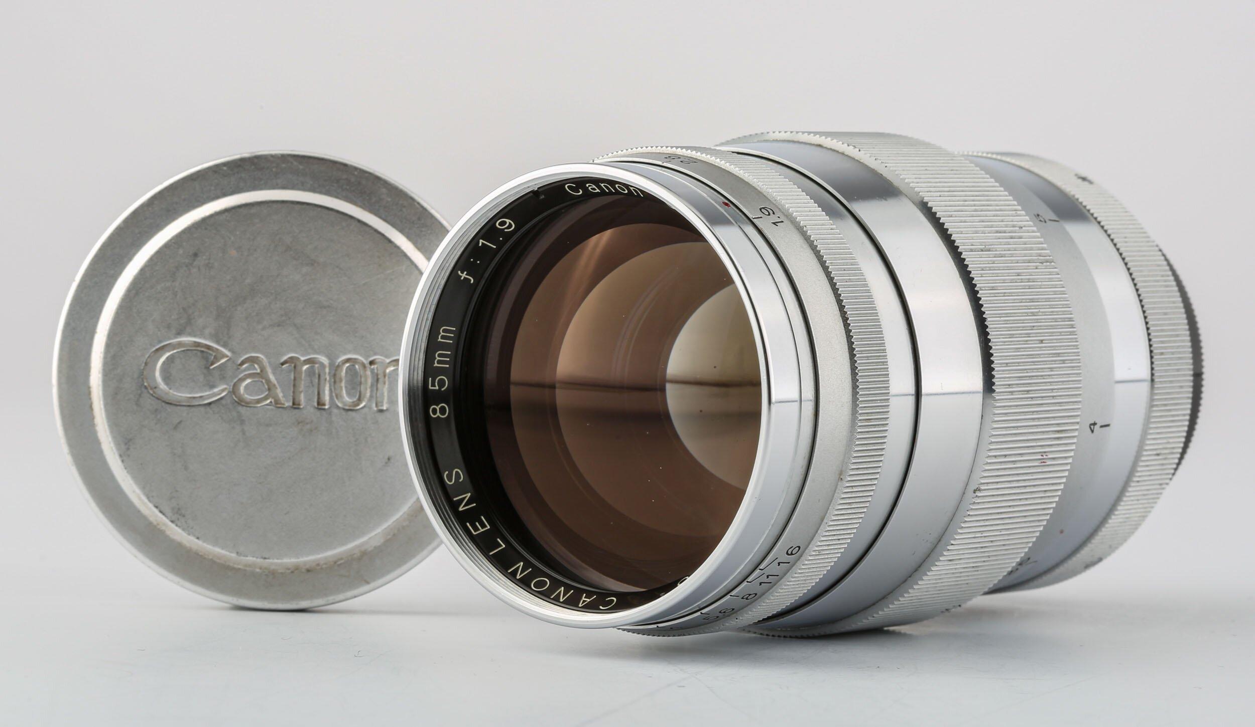 Canon  Lens 1,9/85mm M39