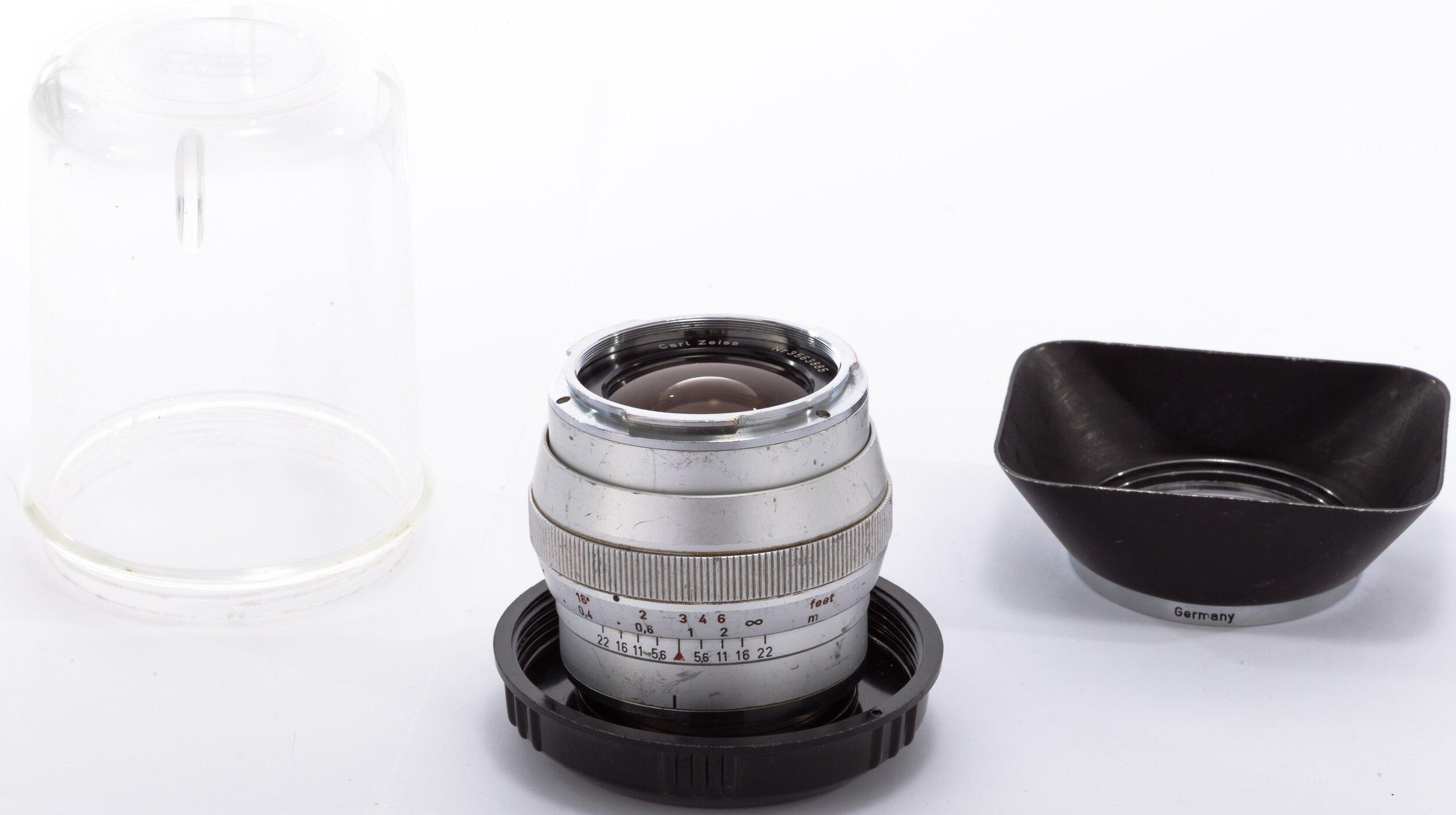 Carl Zeiss f. Zeiss Ikon Contarex 25mm 2,8 Distagon chrom