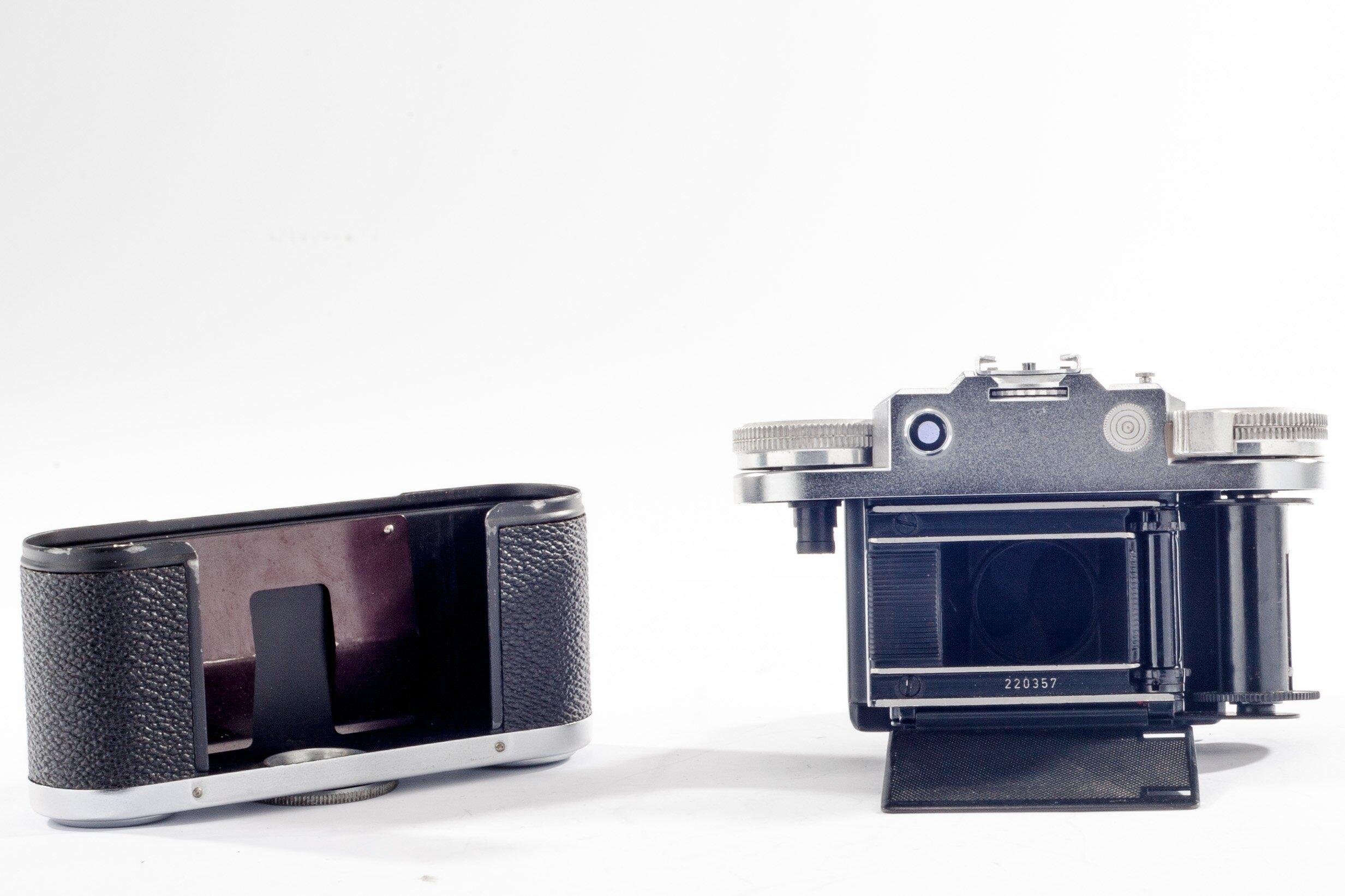 Braun Nürnberg Super Praxette mit Steinheil Cassarit 2,8/45mm