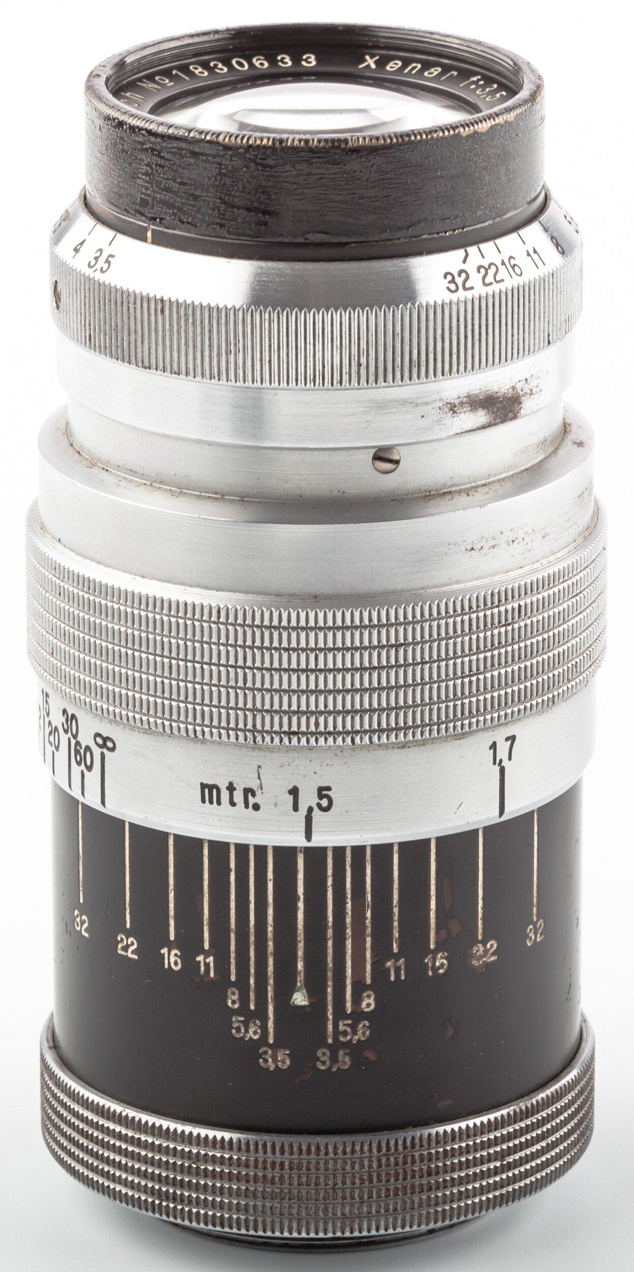 Schneider Xenar 3,5/10,5cm M39