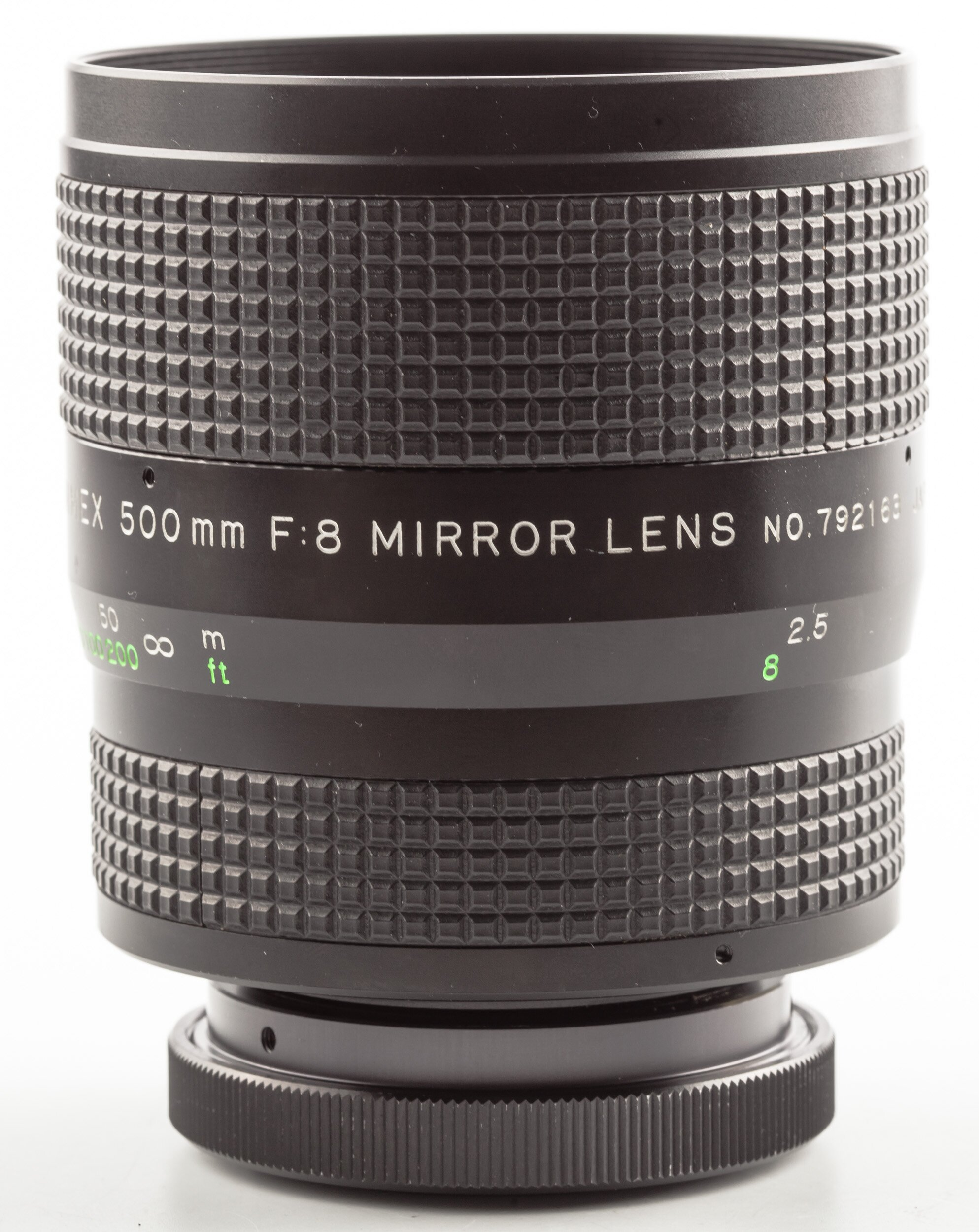 Hanimex 500mm 8 Mirror Lens T2 Canon FD