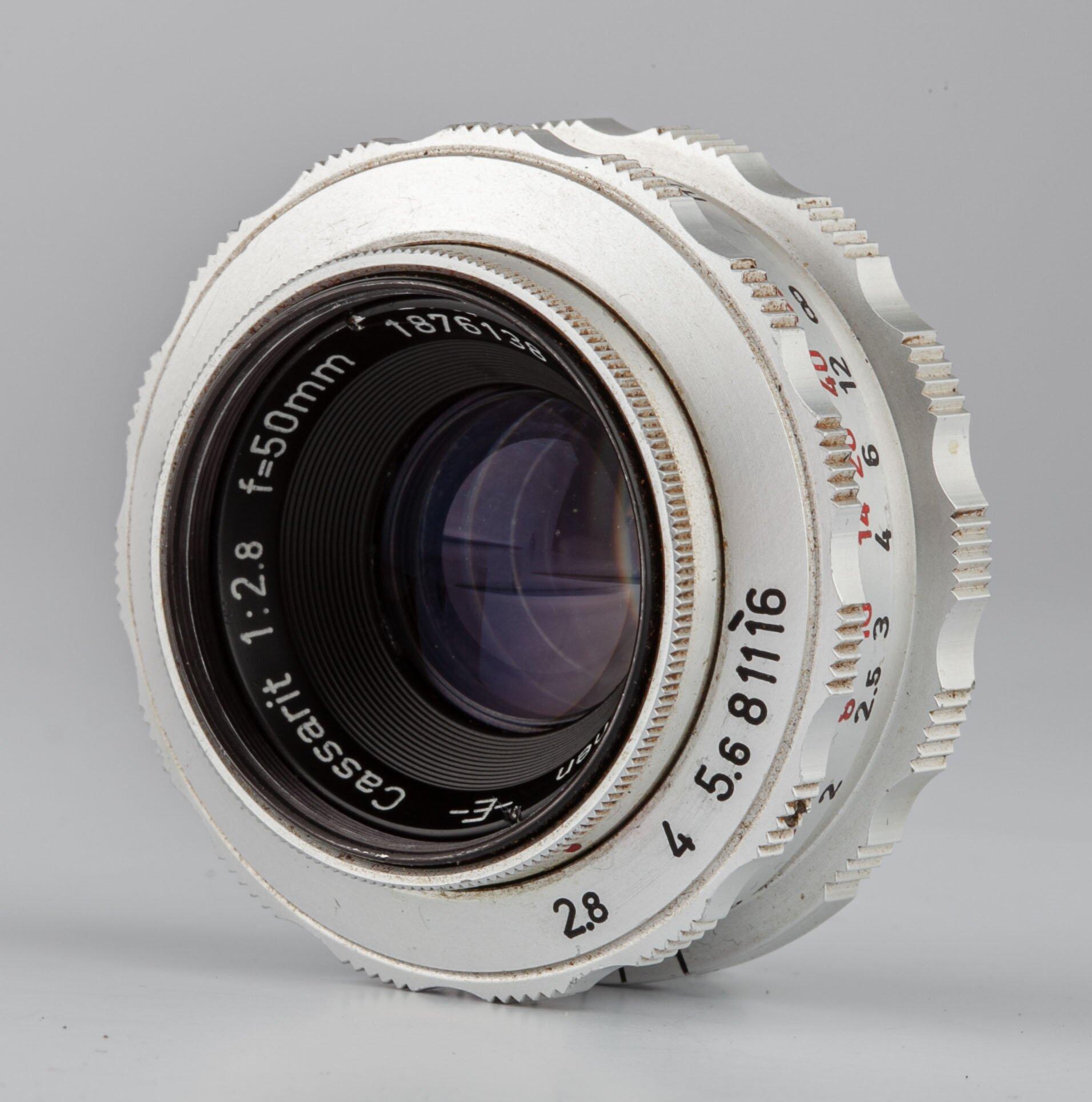 Steinheil München M39 E Cassarit 50mm F2.8