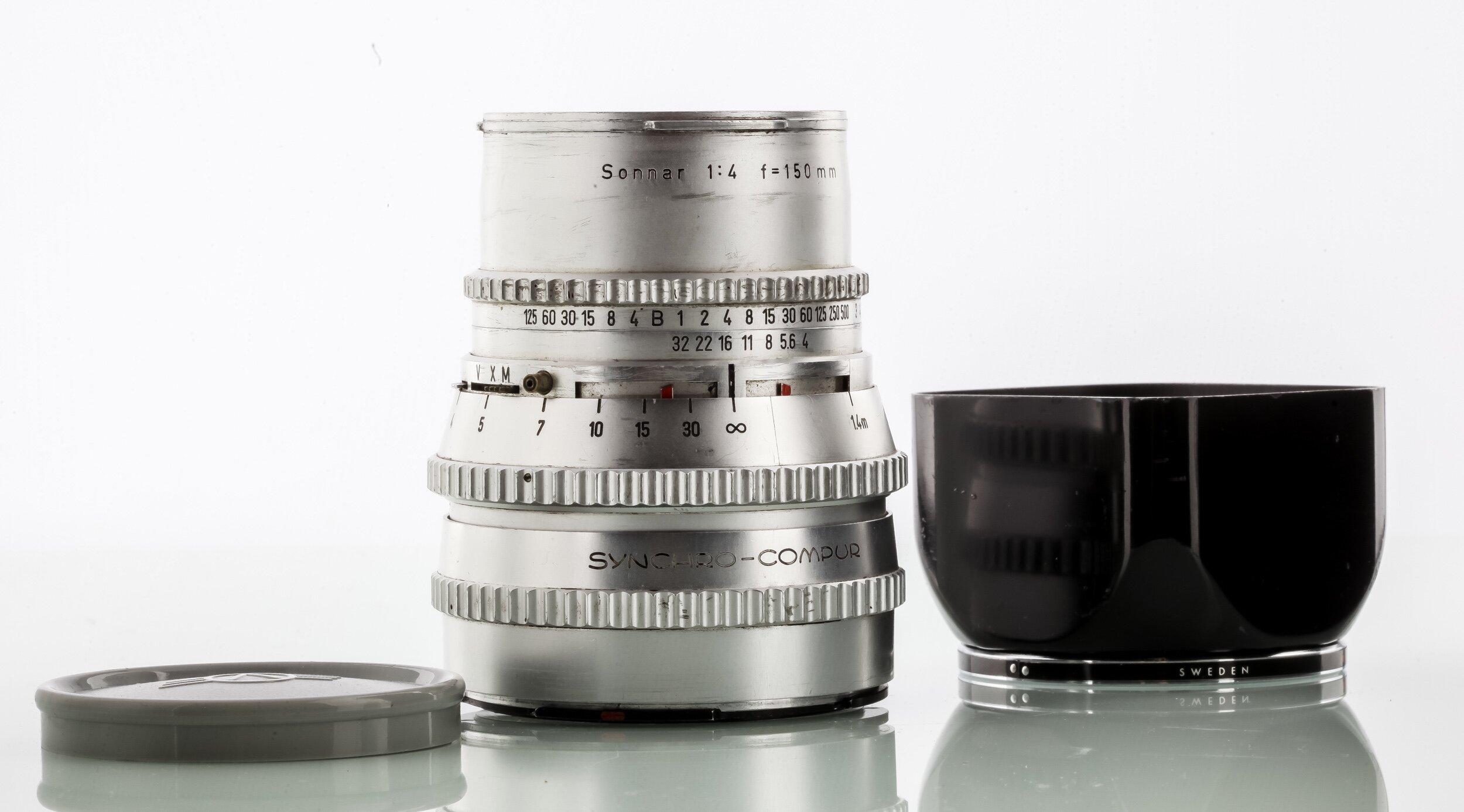 Hasselblad V Sonnar 4,0/150mm chrom