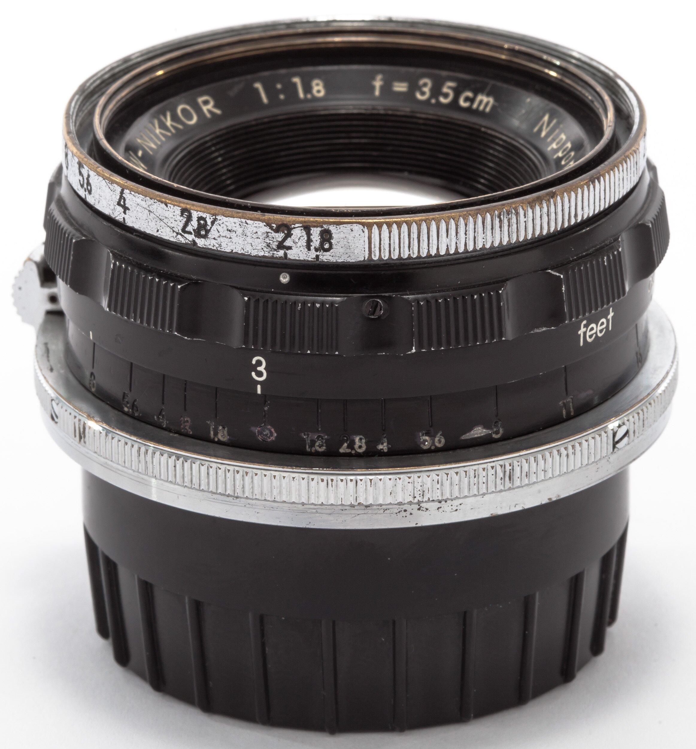 Nikon RF 3,5cm 1,8 W-Nikkor Nippon Kogaku