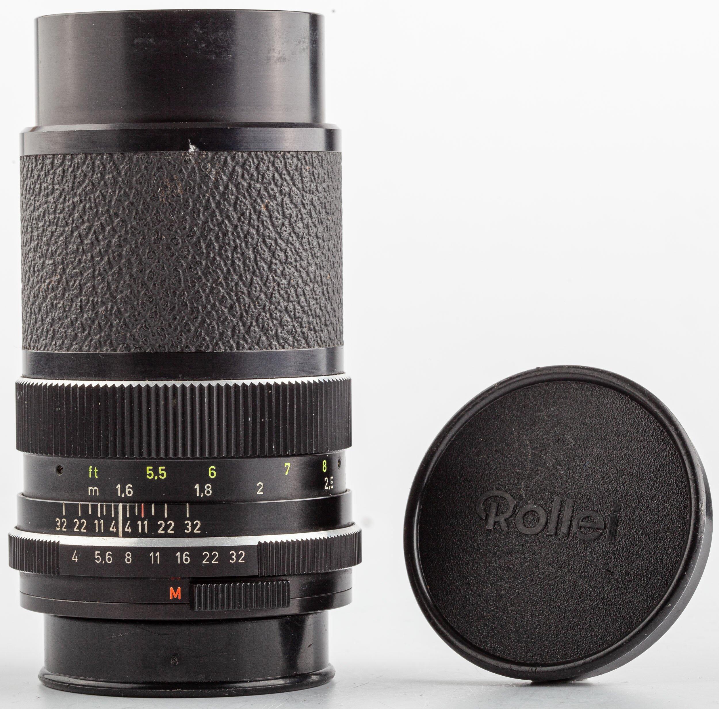Carl Zeiss Tele-Tessar 4/135mm Rollei QBM