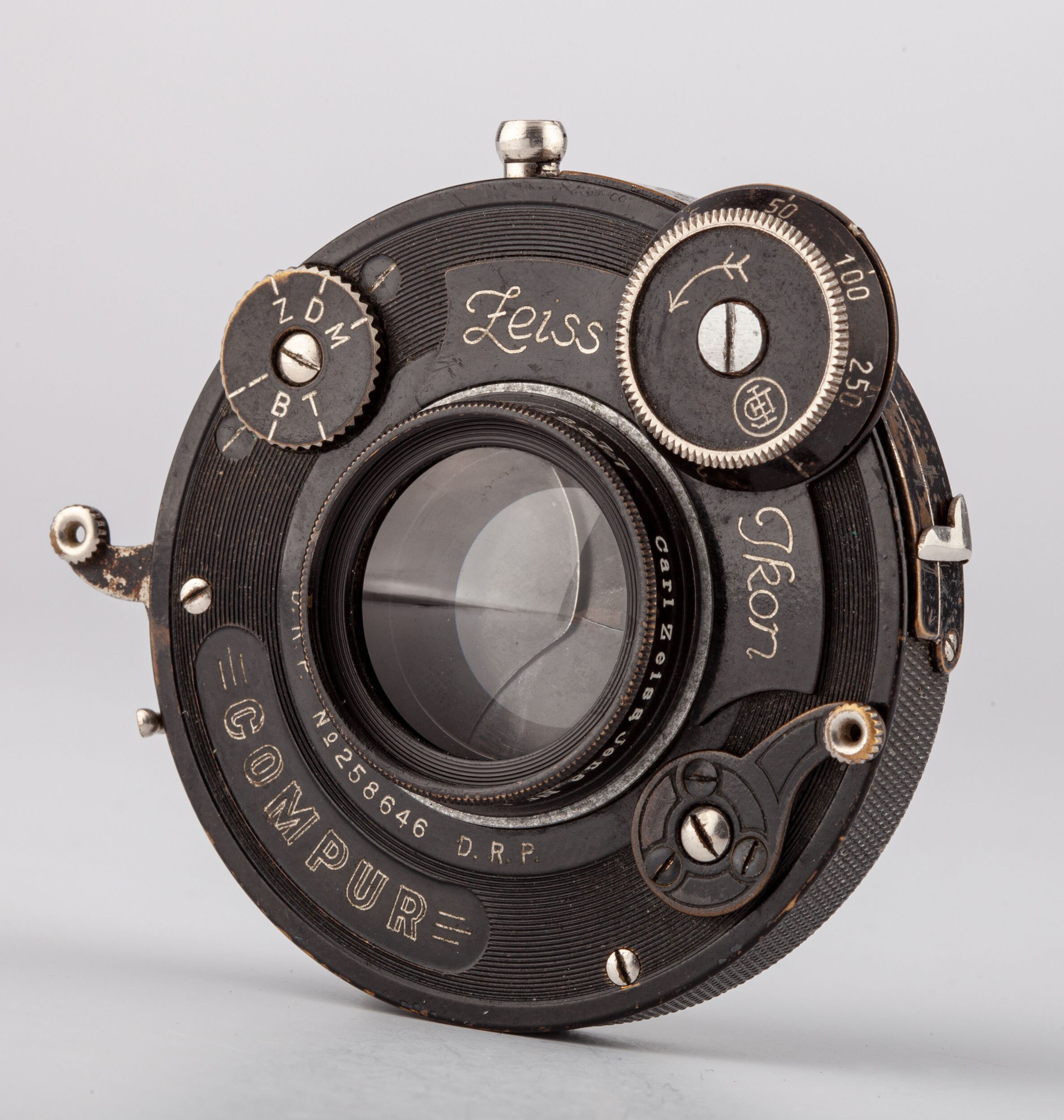 Carl Zeiss Zeiss Ikon Portraitlinse VII / 22cm im Compur Verschluss