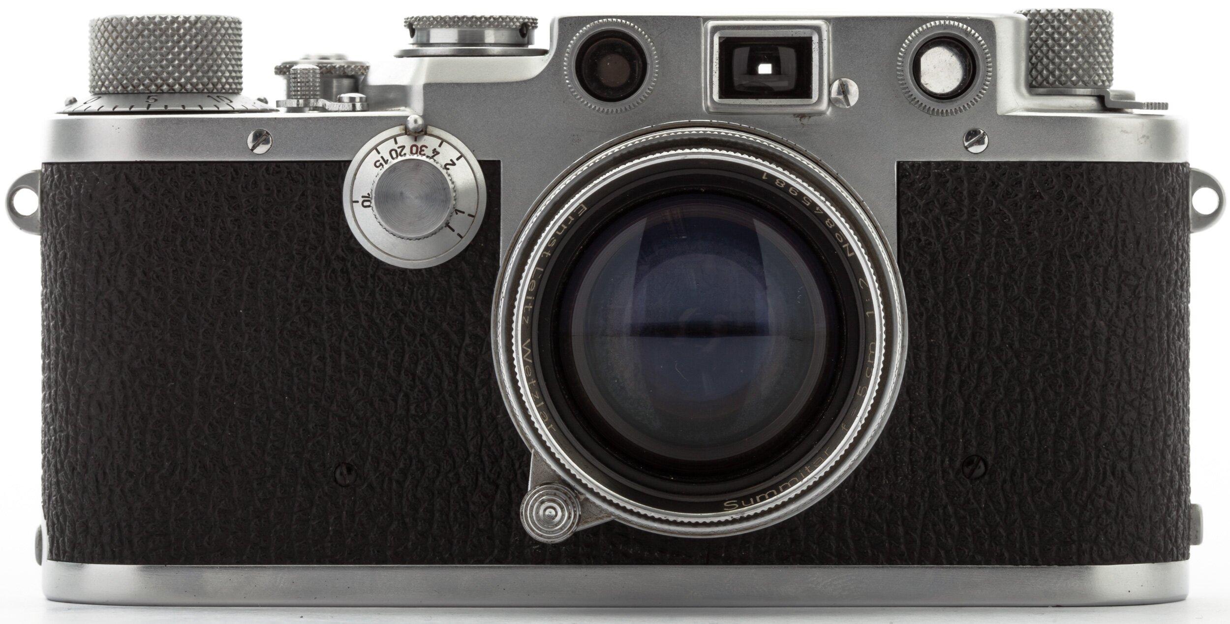 Leica IIIf mit 5cm 2 Summitar