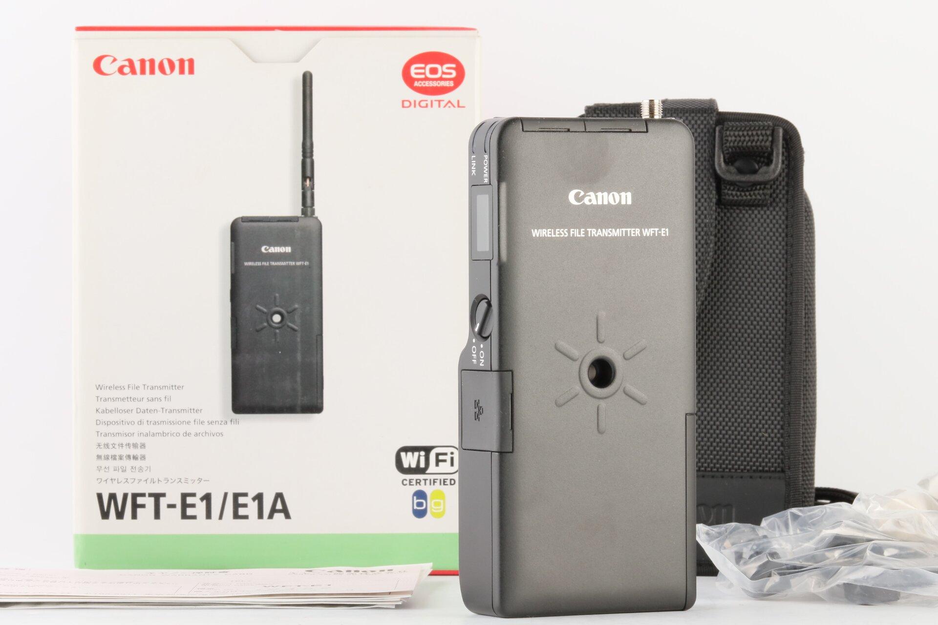 Canon Wireless File Transmitter WFT-E1/E1A