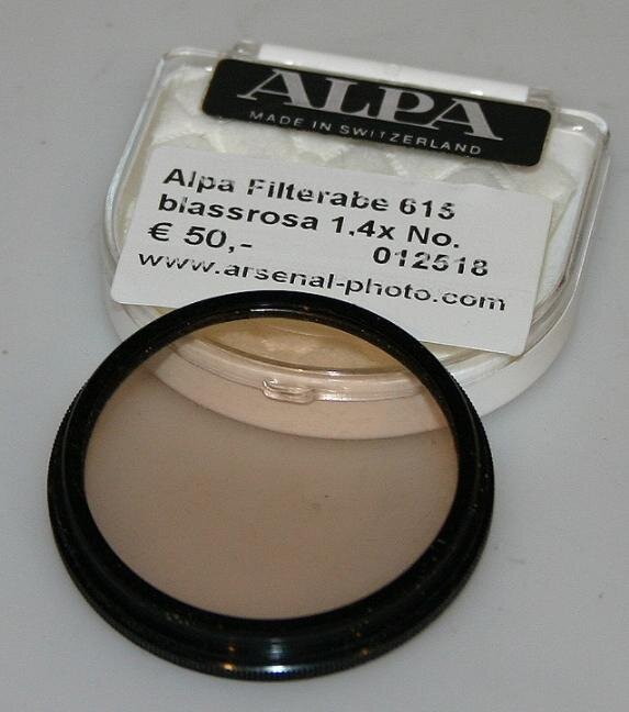Alpa Filterabe 615  blassrosa 1,4x