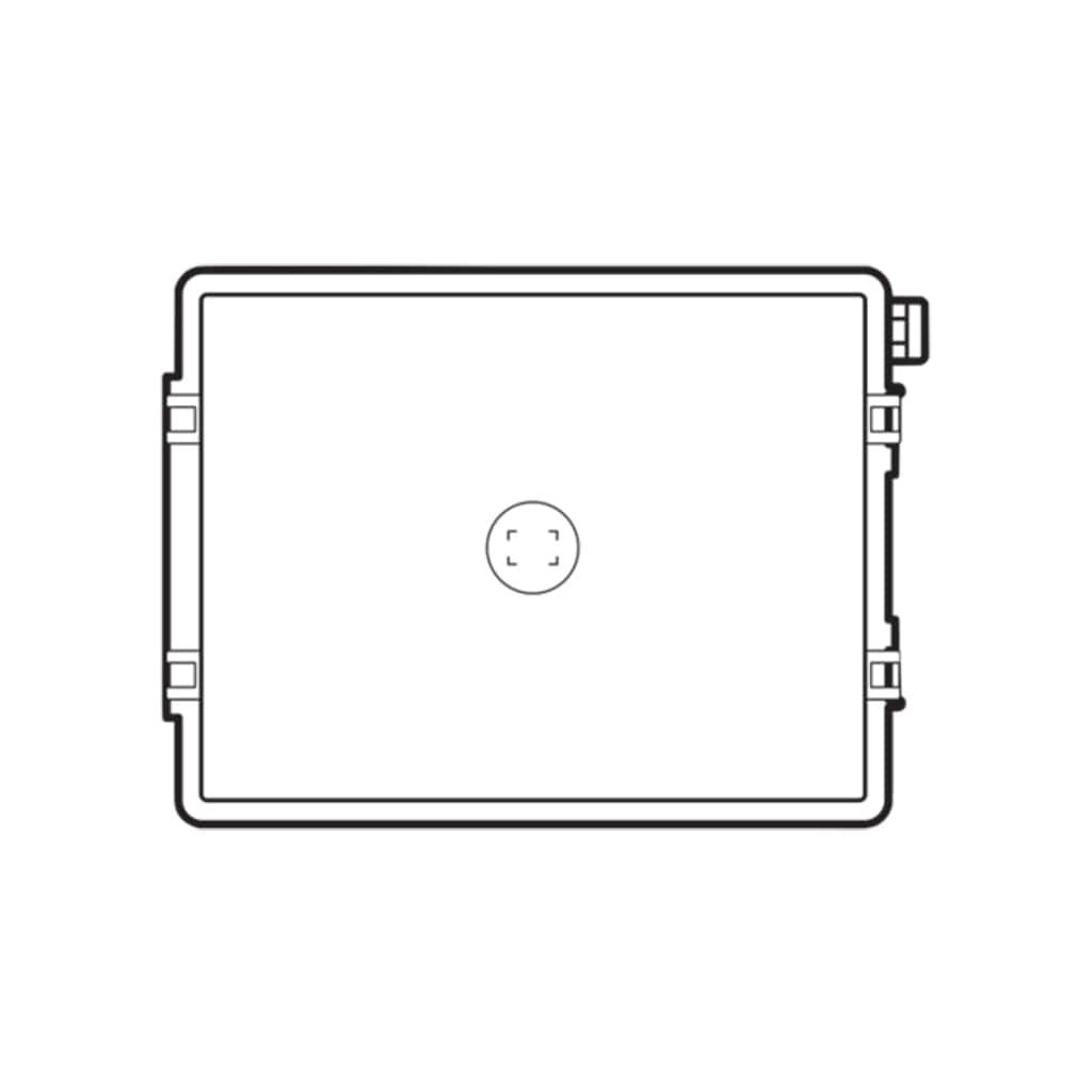 Hasselblad Einstellscheibe Acute-Matte D HS-Standard mit Mittenmarkierung für Spot- und AF-Messbereich für Kameras der H-Serie