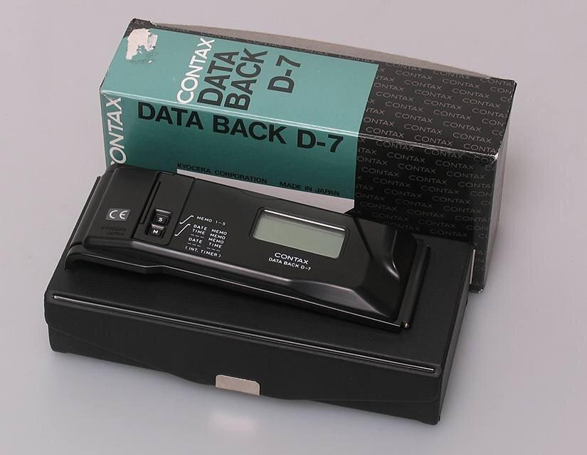 Contax f. 167 MT D-7 Datenrückwand