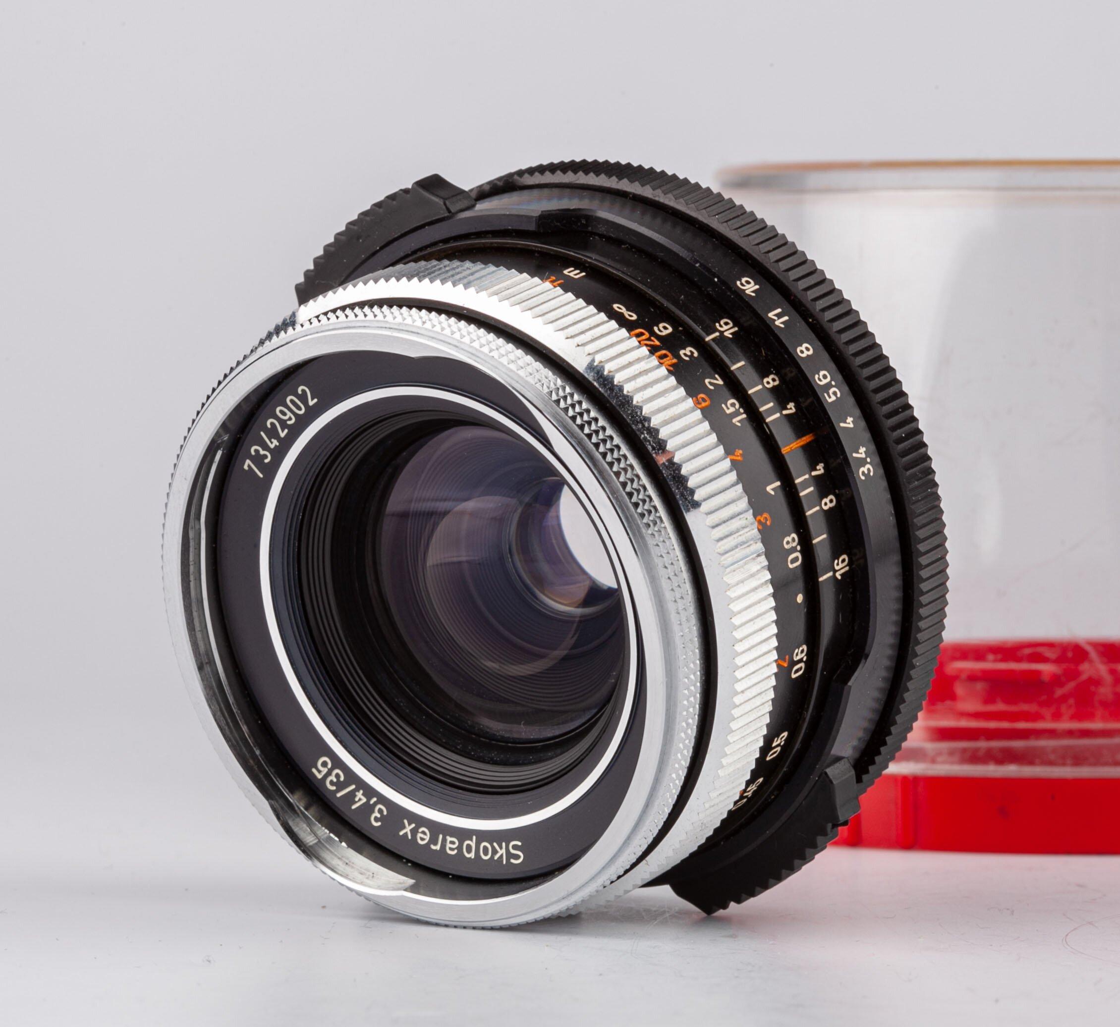 Carl Zeiss Skoparex 3,4/35mm BM f. Icarex