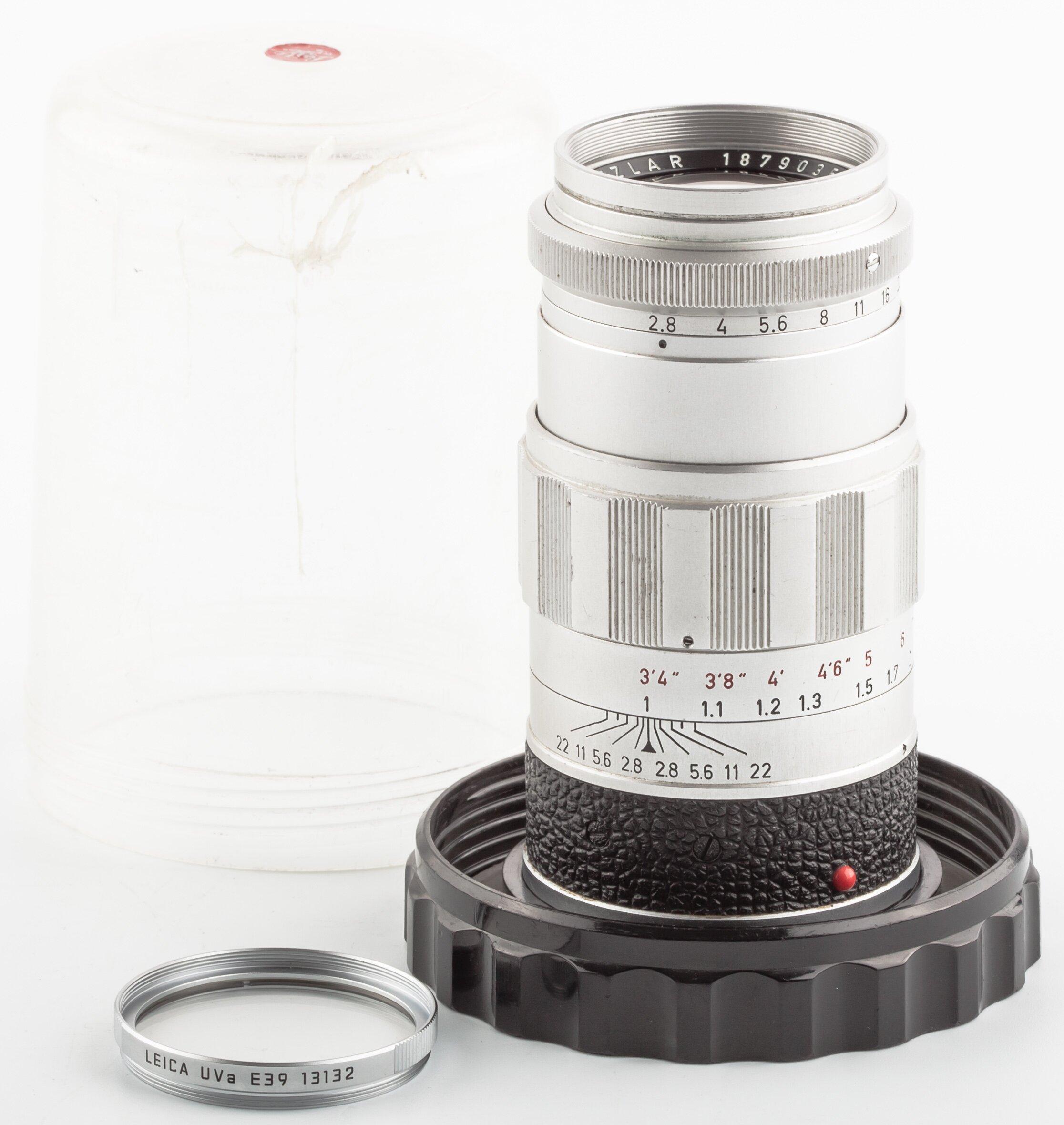 Leica M Elmarit 90 mm 2.8 ELRIM 11129