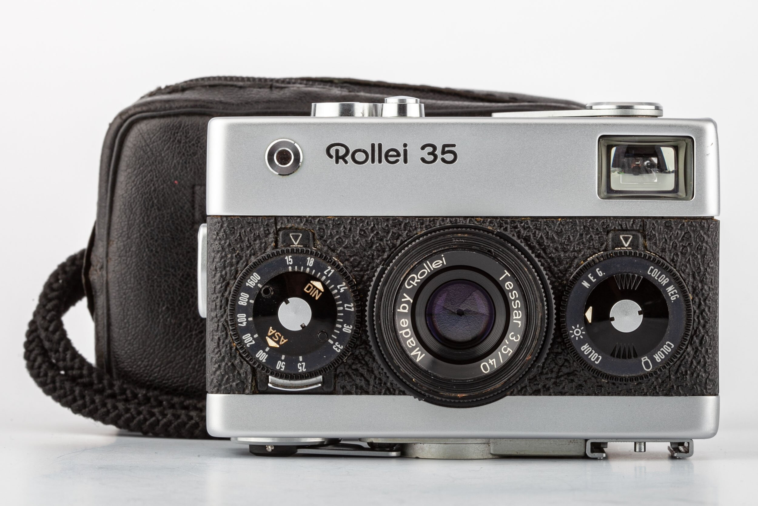 Rollei 35 Chrome Body with Tessar 40mm F3.5
