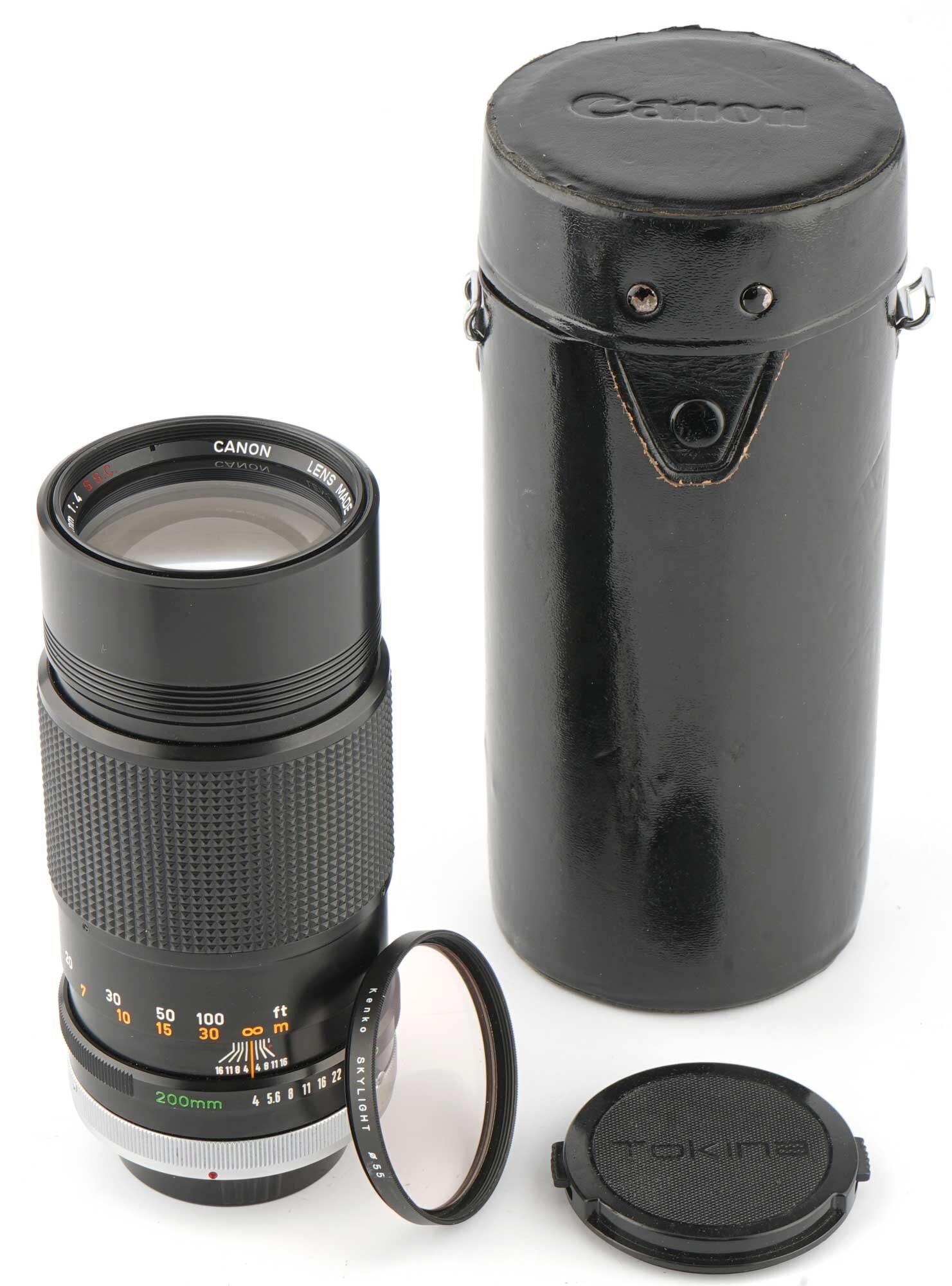 Canon Lens FD 200mm 4,0 S.S.C.