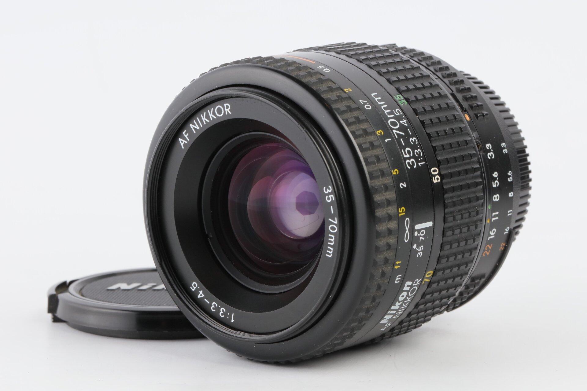 Nikon AF 35-70mm 3,3-4,5 Nikkor